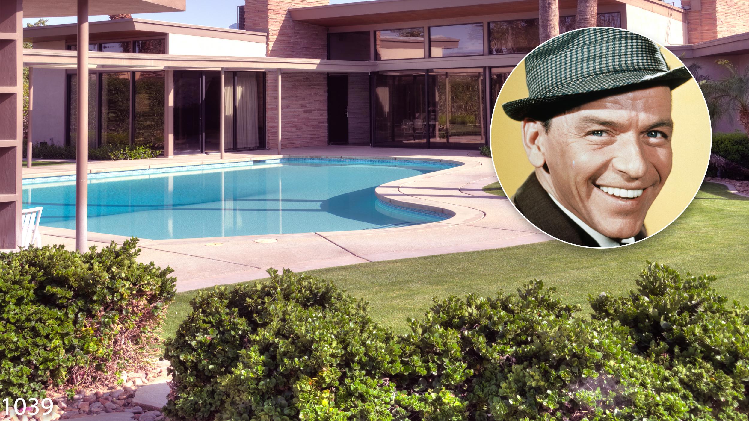 Nancy Sinatra Sr Frank Sinatra S Palm Springs Estate Is For Rent