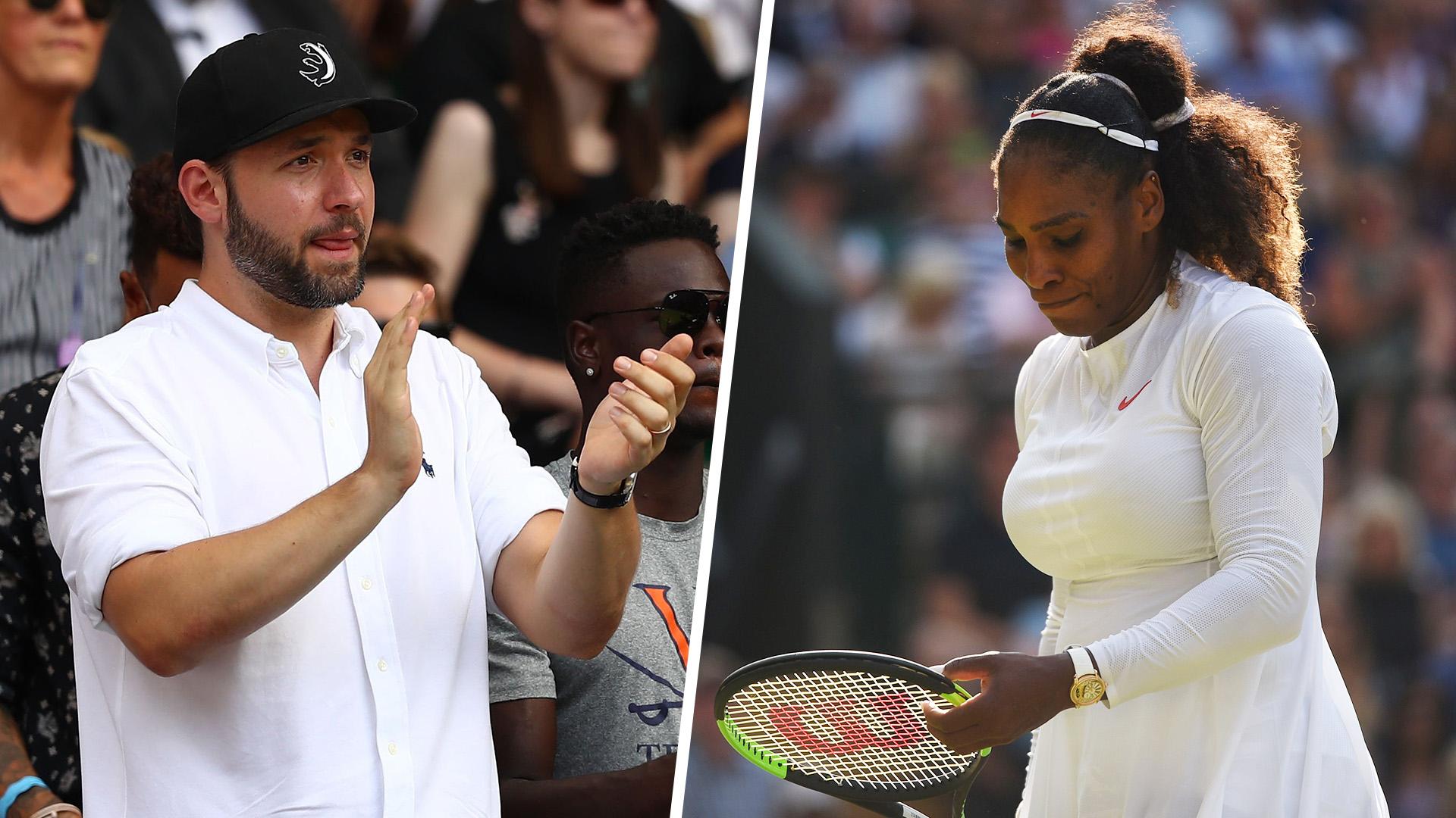 Serena Williams' husband pens emotional note following her Wimbledon loss