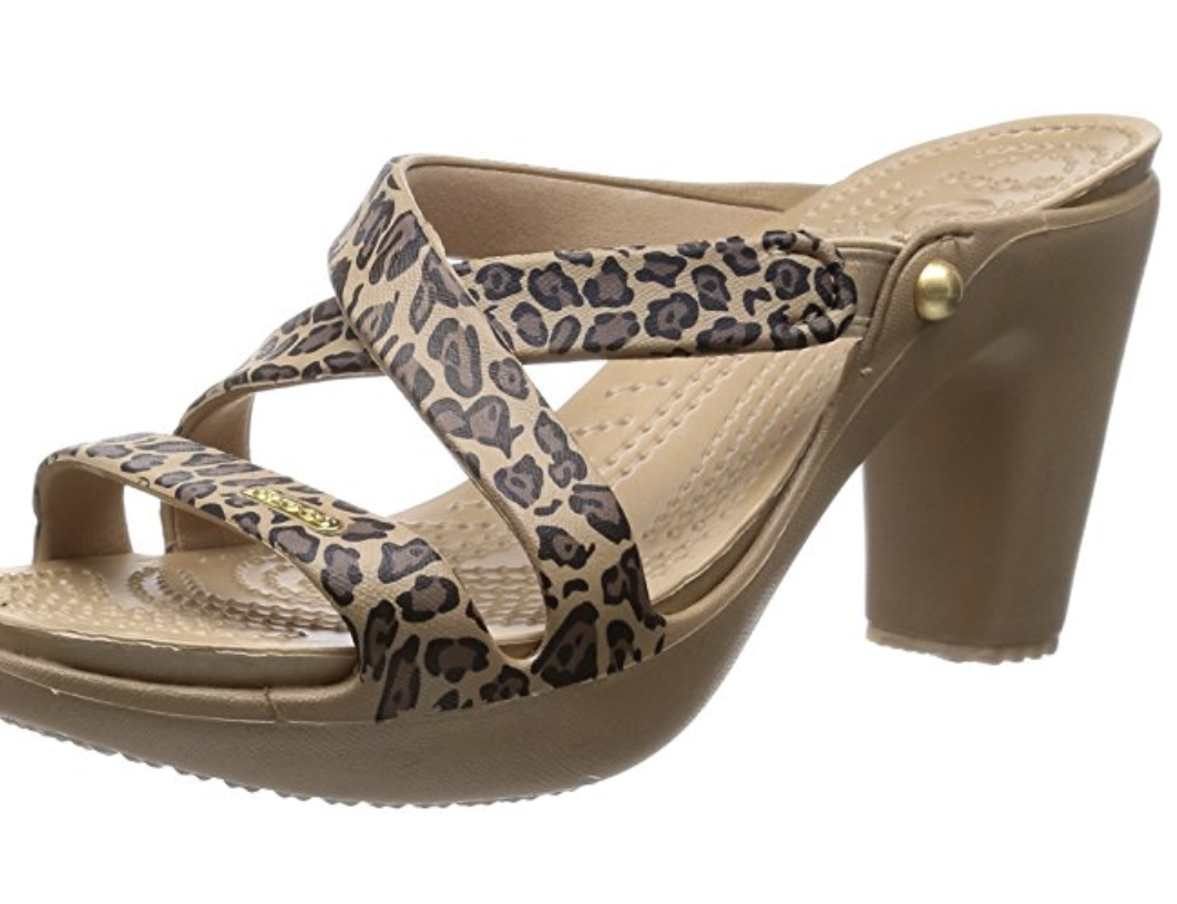 Croc high heels have arrived, and here