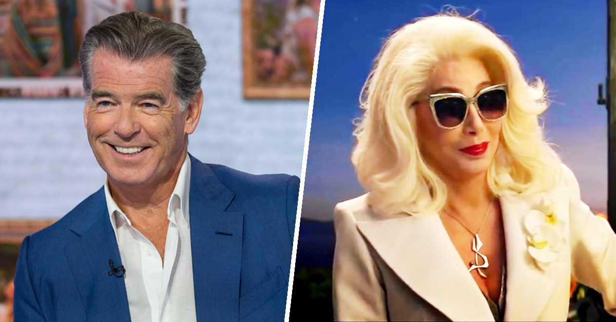 Even Cher — yes, Cher! — got nervous on 'Mamma Mia' set, Pierce Brosnan says