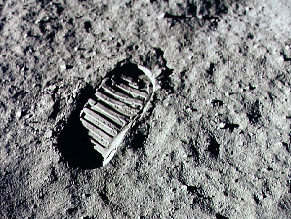 Image result for first step on the moon images