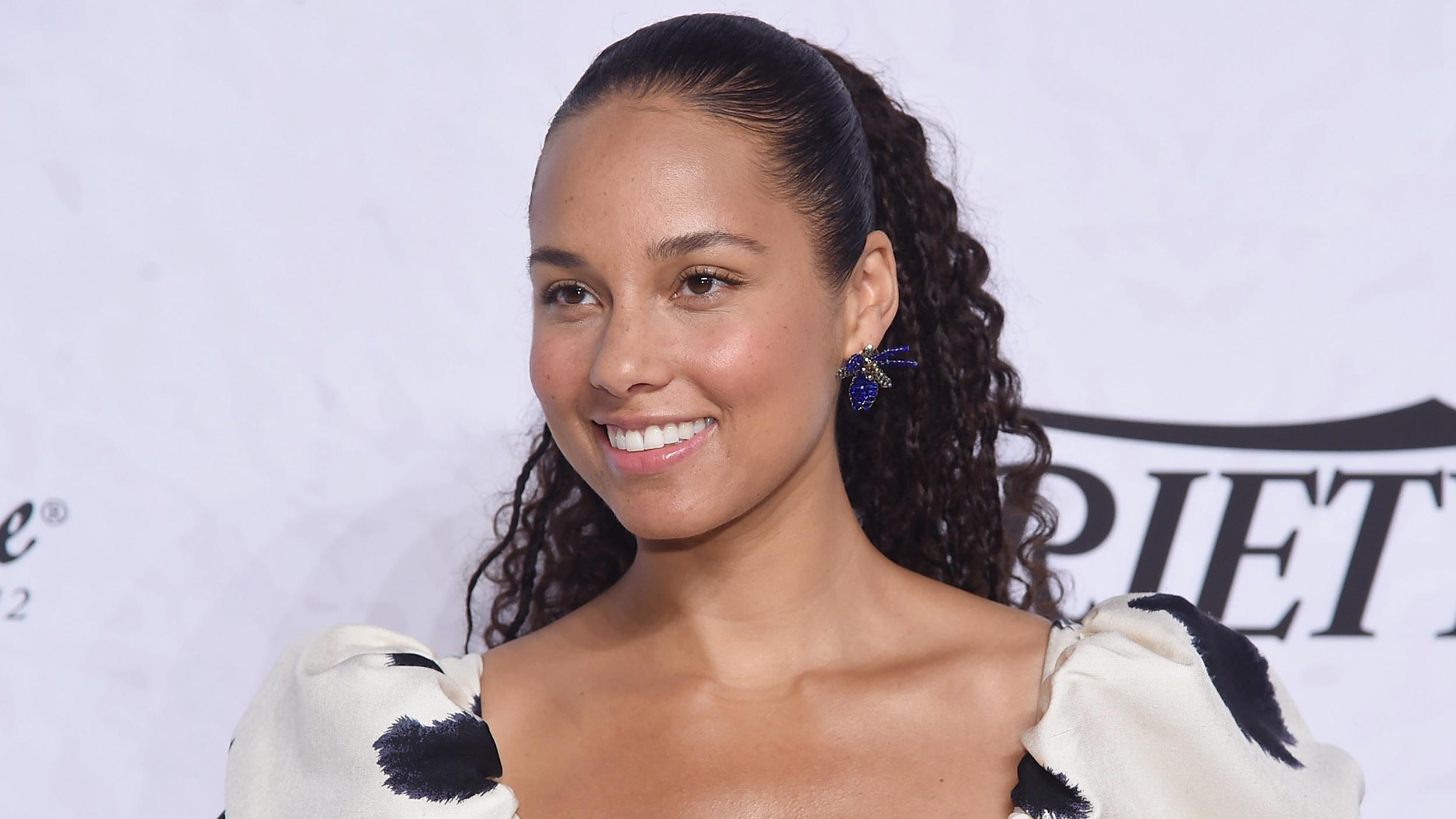 Alicia Keys Hair Is Now A Sleek Bob Cut