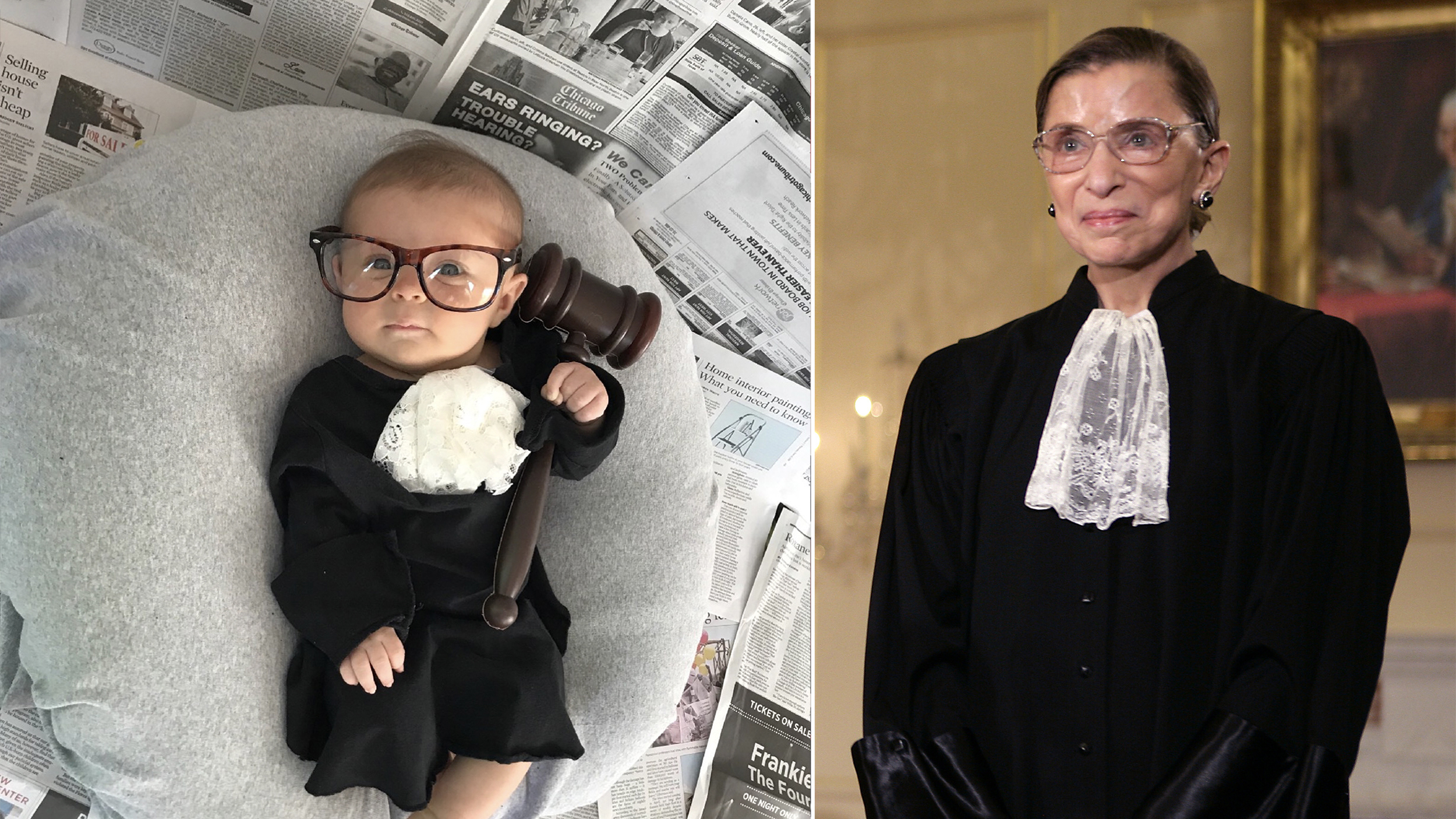 227fb09bc Mom dresses baby as famous women like Madonna and Malala