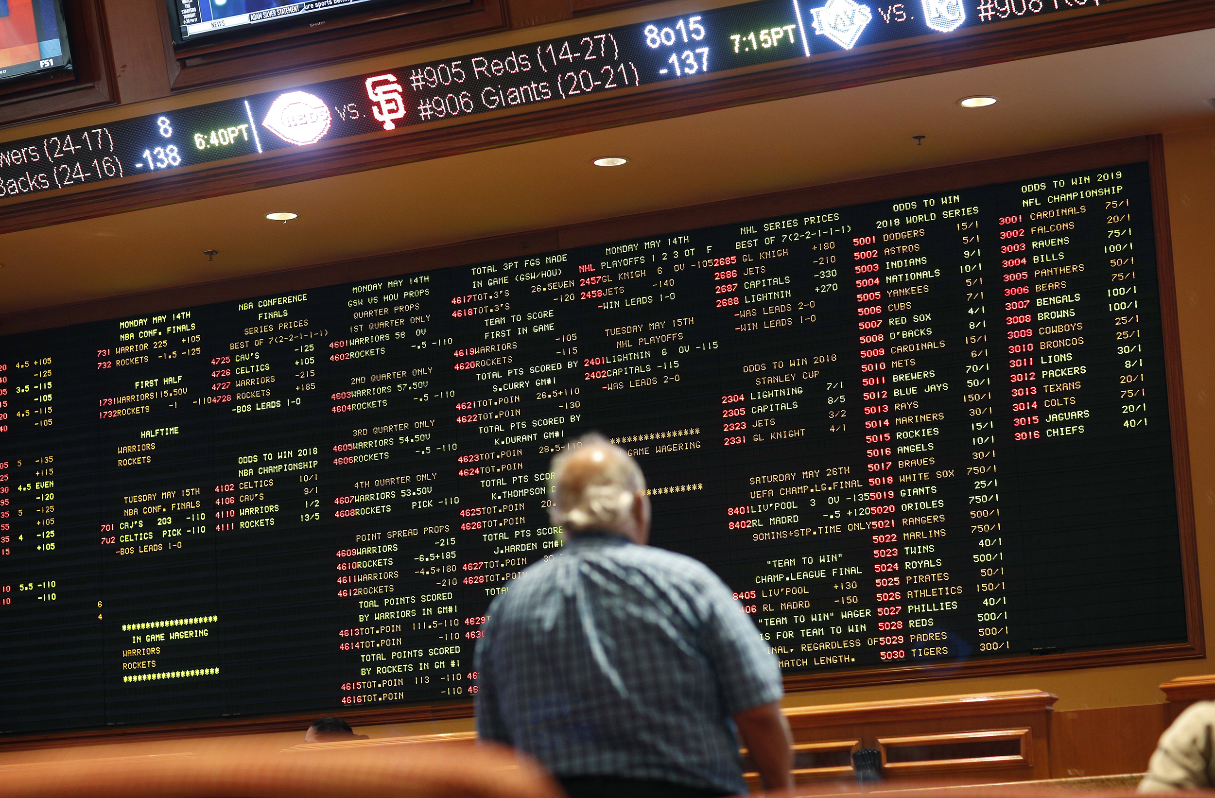 The Supreme Court OK'd sports gambling. See which states are open for bets.