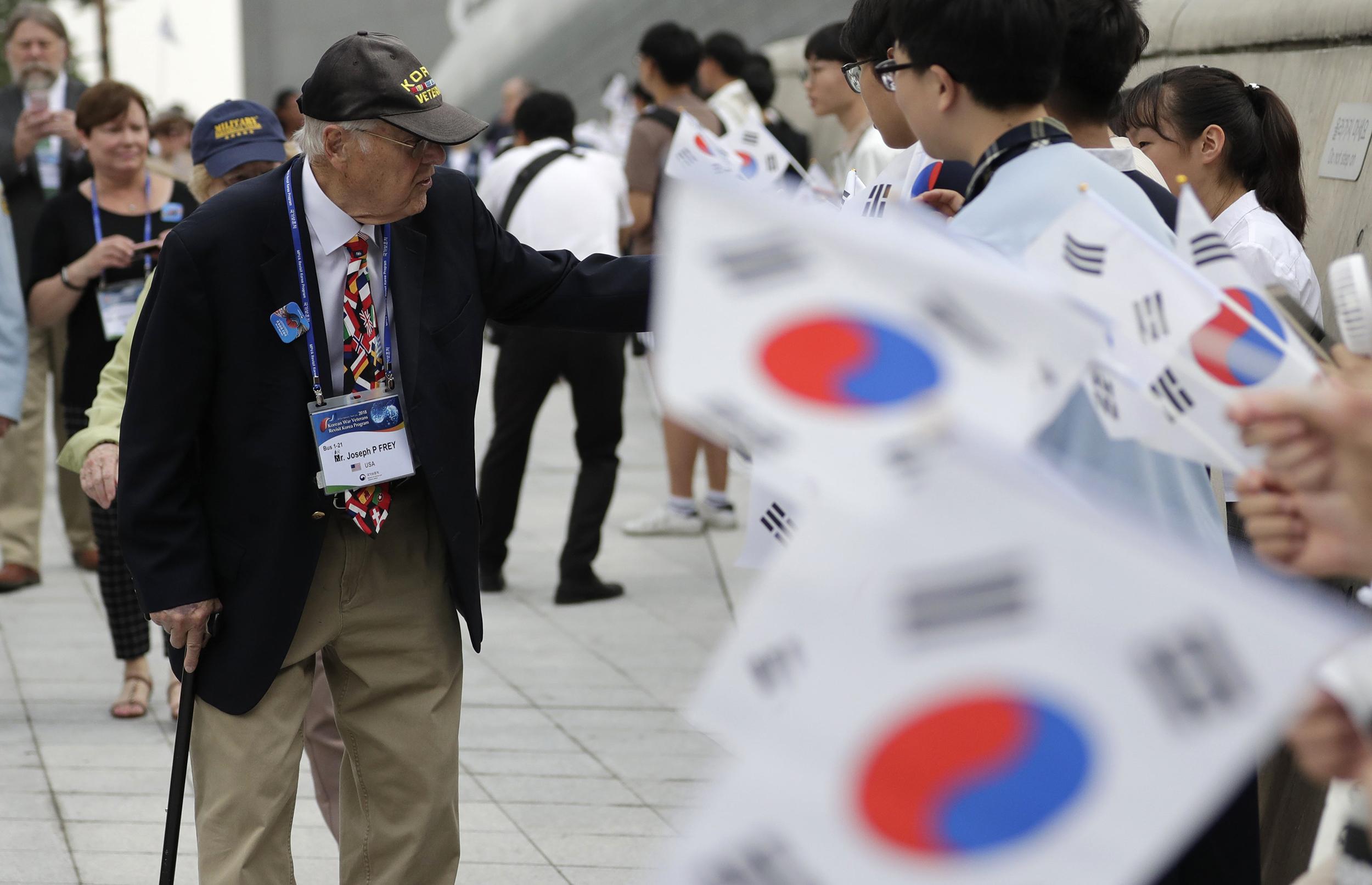 North Korea returns possible remains of 55 U.S. Korean War troops