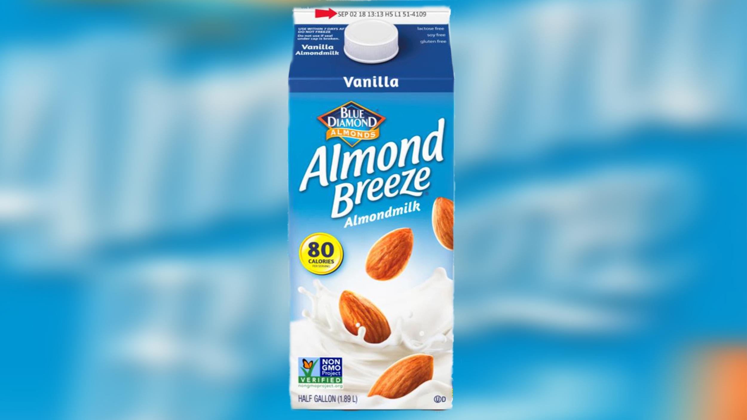 Almond Breeze almond milk recalled