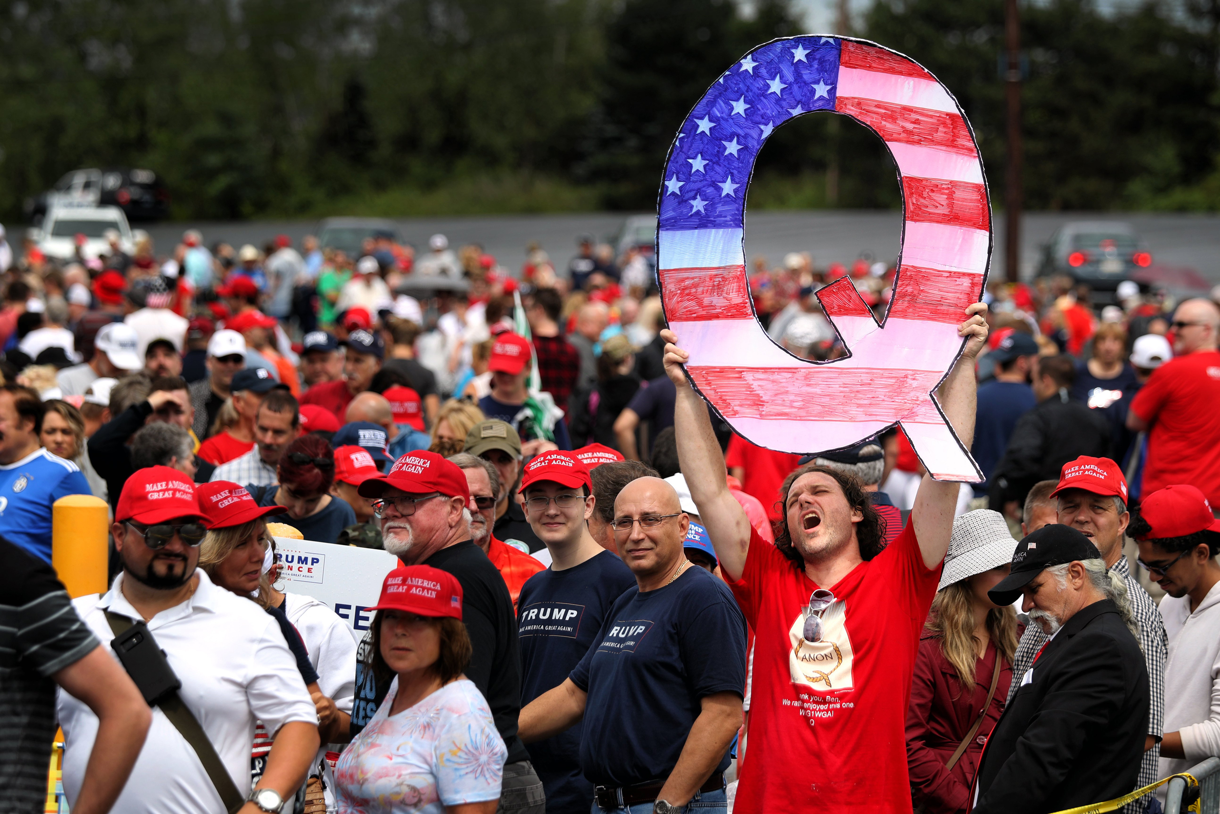 What Is Qanon A Guide To The Conspiracy Theory Taking Hold Among Trump Supporters