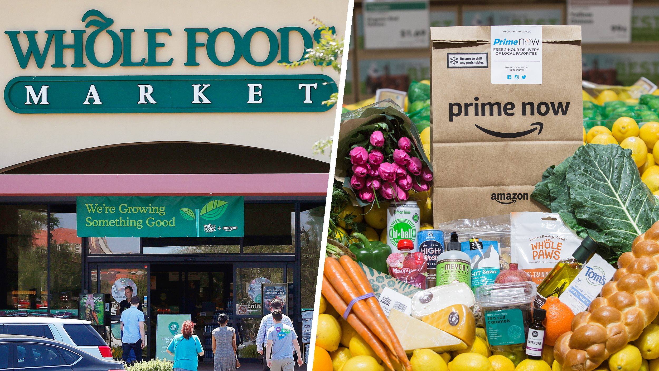 Skip the line at Whole Foods! Amazon launches 30-minute