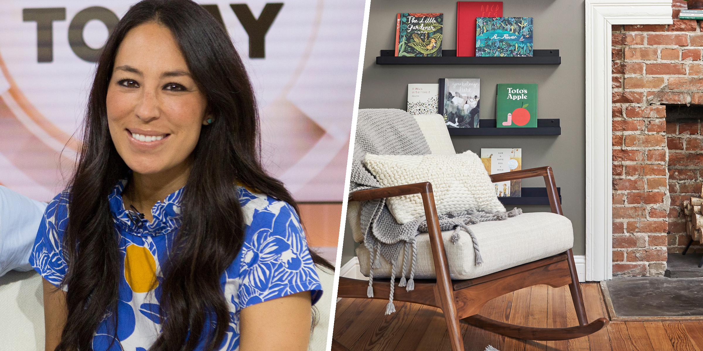 Joanna Gaines explains how she planned the perfect nursery for baby Crew