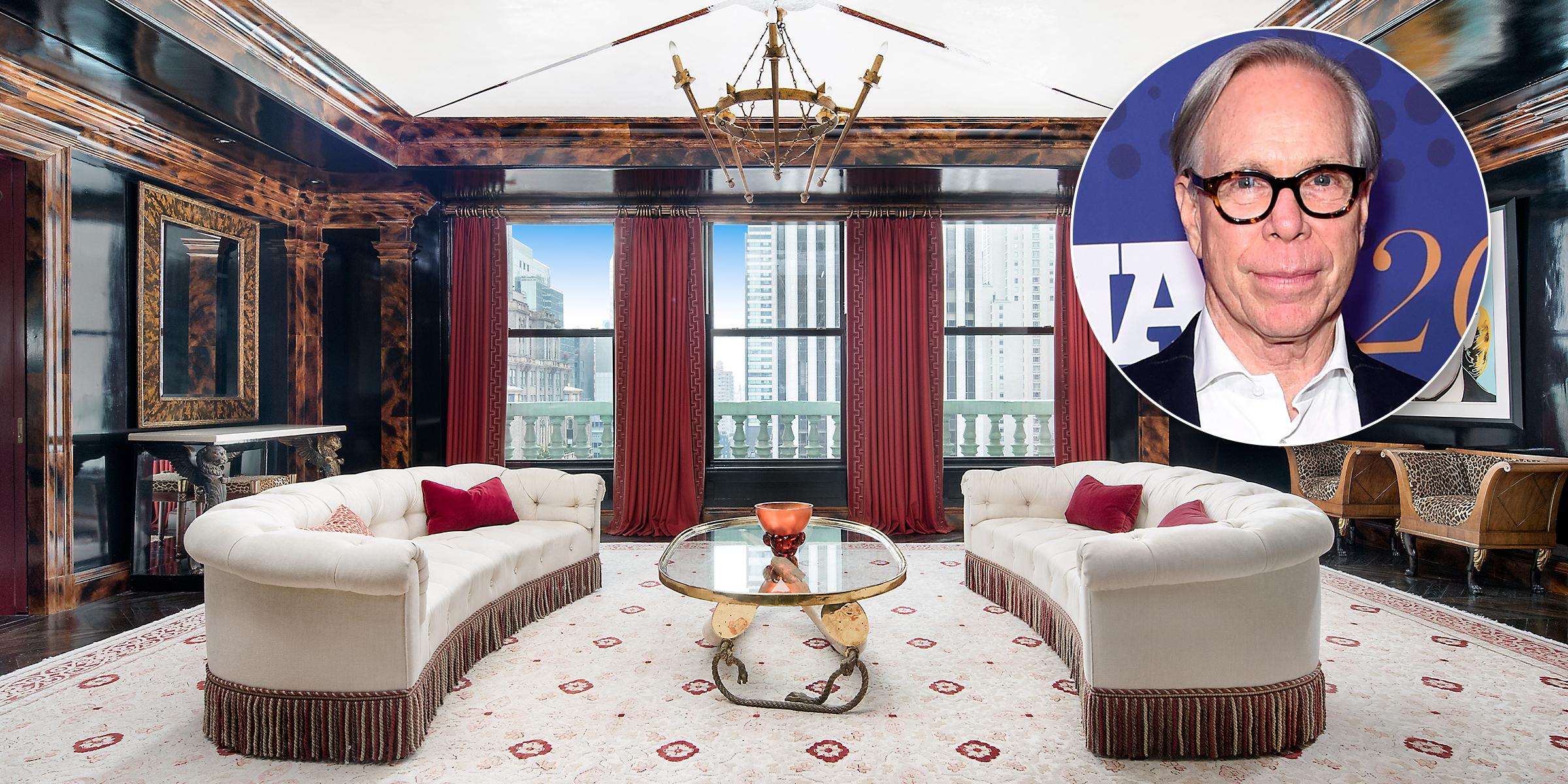 Tommy Hilfiger's Manhattan penthouse is so fashionable on ralph lauren furniture, michael kors furniture, pierre cardin furniture, dior furniture,
