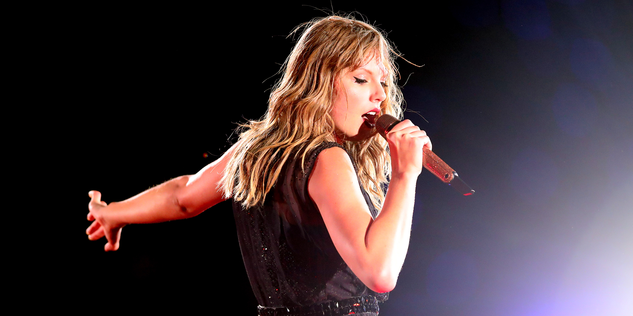 Taylor Swift Fights Back Tears On Stage On Anniversary Of Sexual