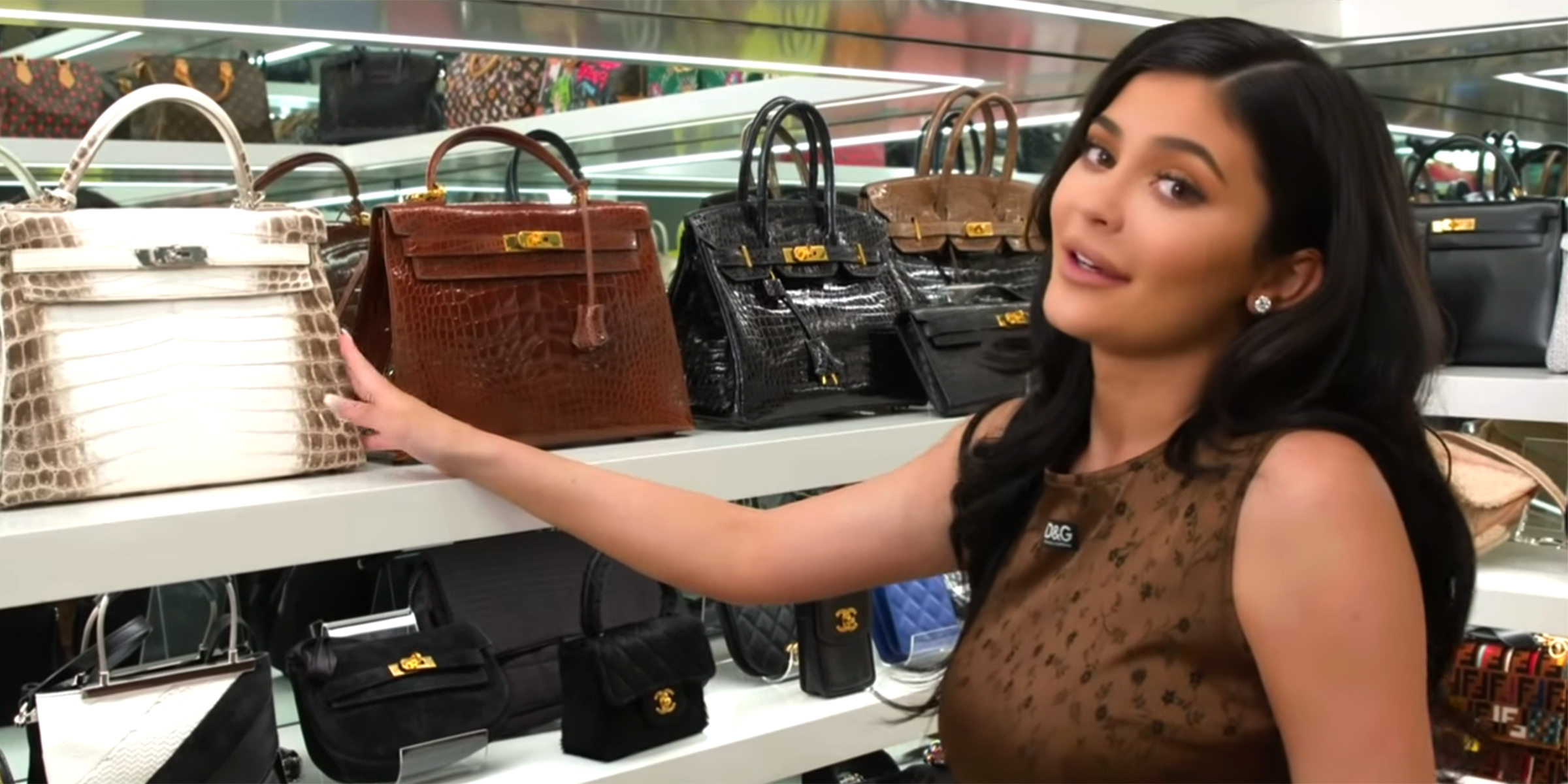 fdc9df1ccc1a Kylie Jenner's purse closet tour will make you jealous