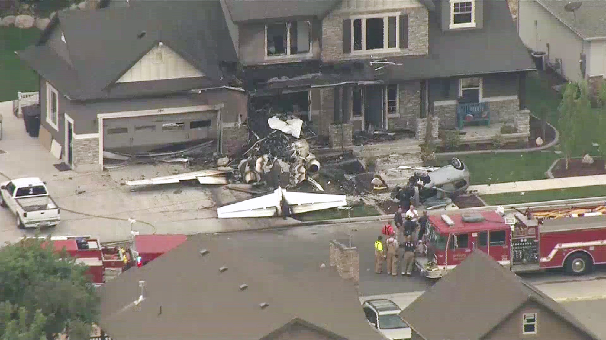 Utah Man Crashes Plane Into His Own House After Assaulting Wife