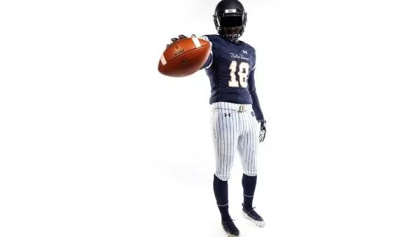Notre Dame reveals Yankees-inspired look for Shamrock Series