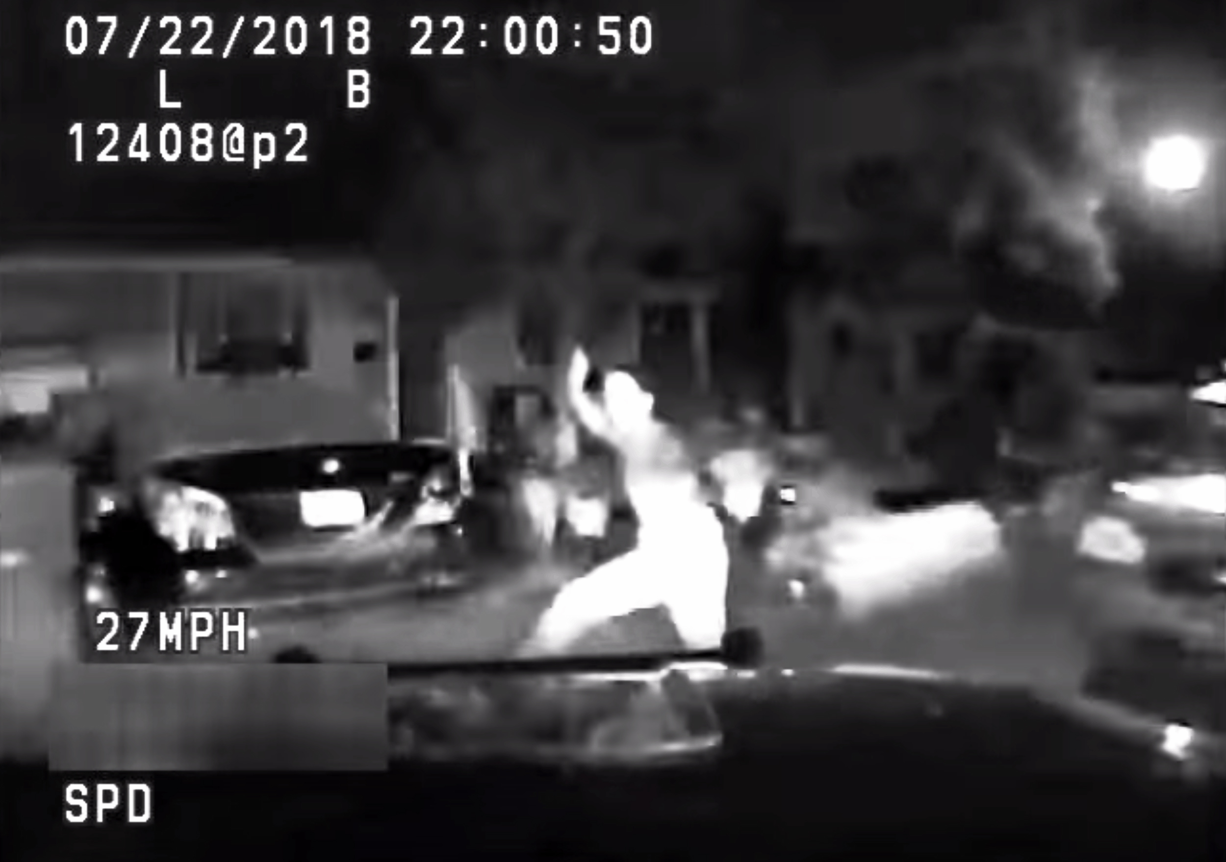 Officer was traveling at unsafe speed when SUV struck teen, police say