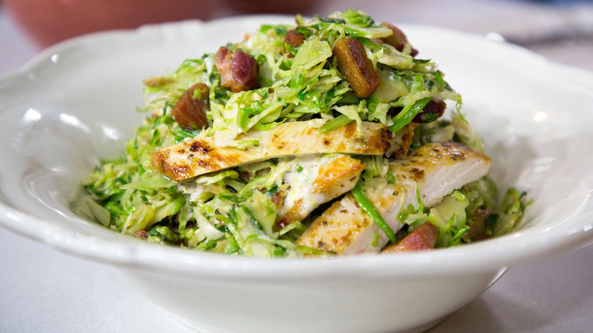 Caesar Salad Recipe Chicken Bacon