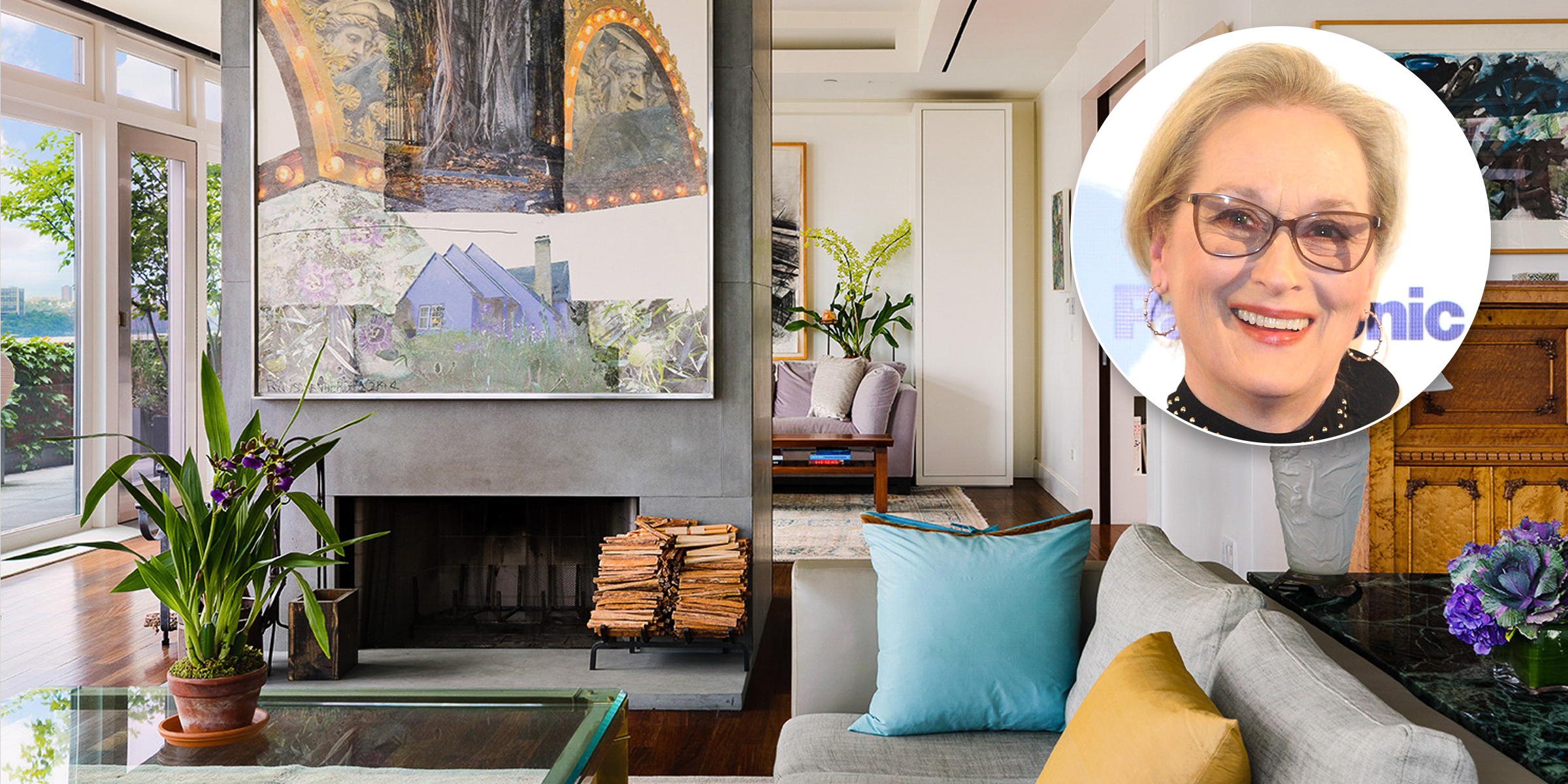 Meryl Streep is selling her elegant NYC penthouse — take a look inside