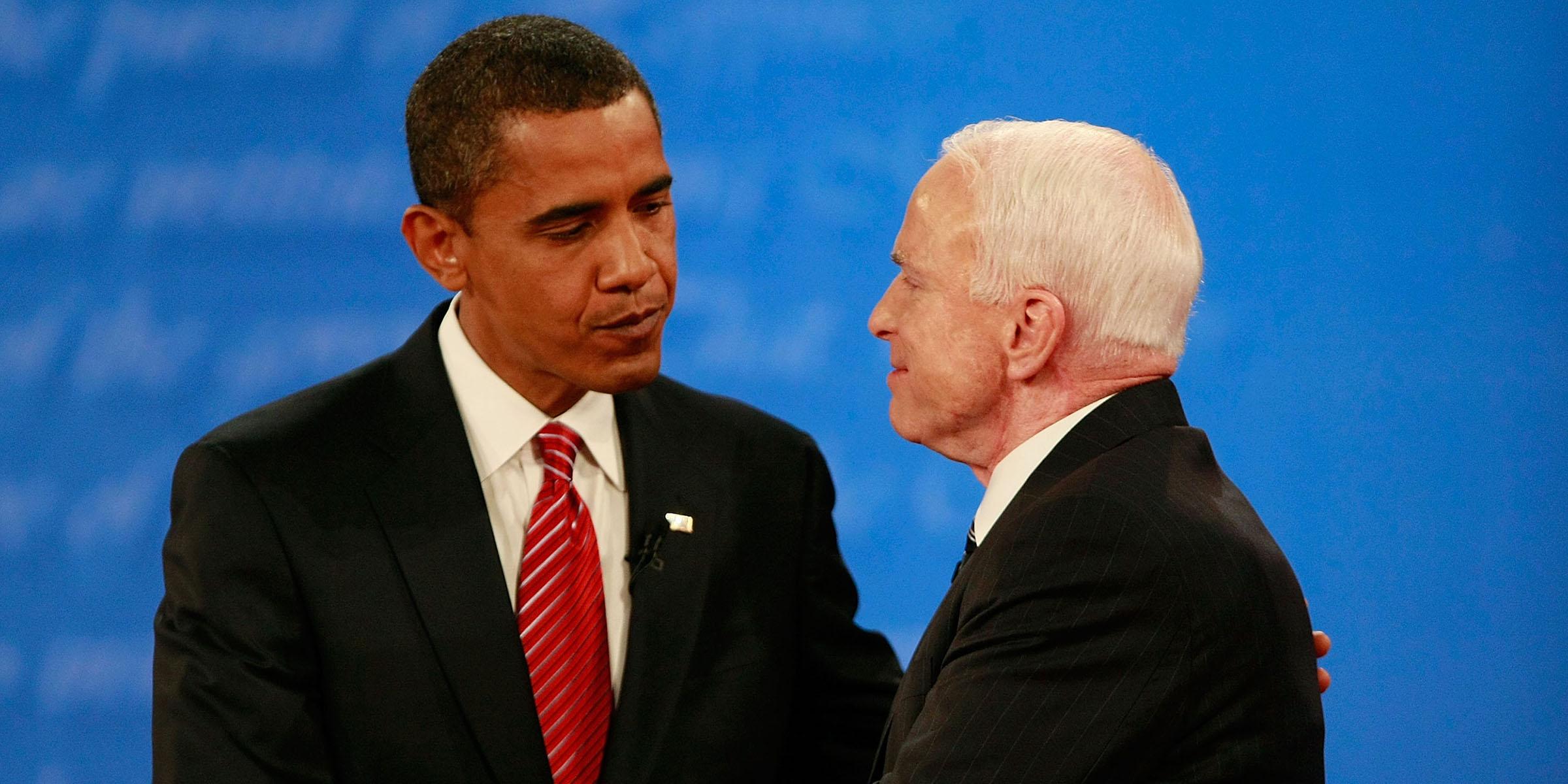 Barack Obama ve John McCain ile ilgili görsel sonucu