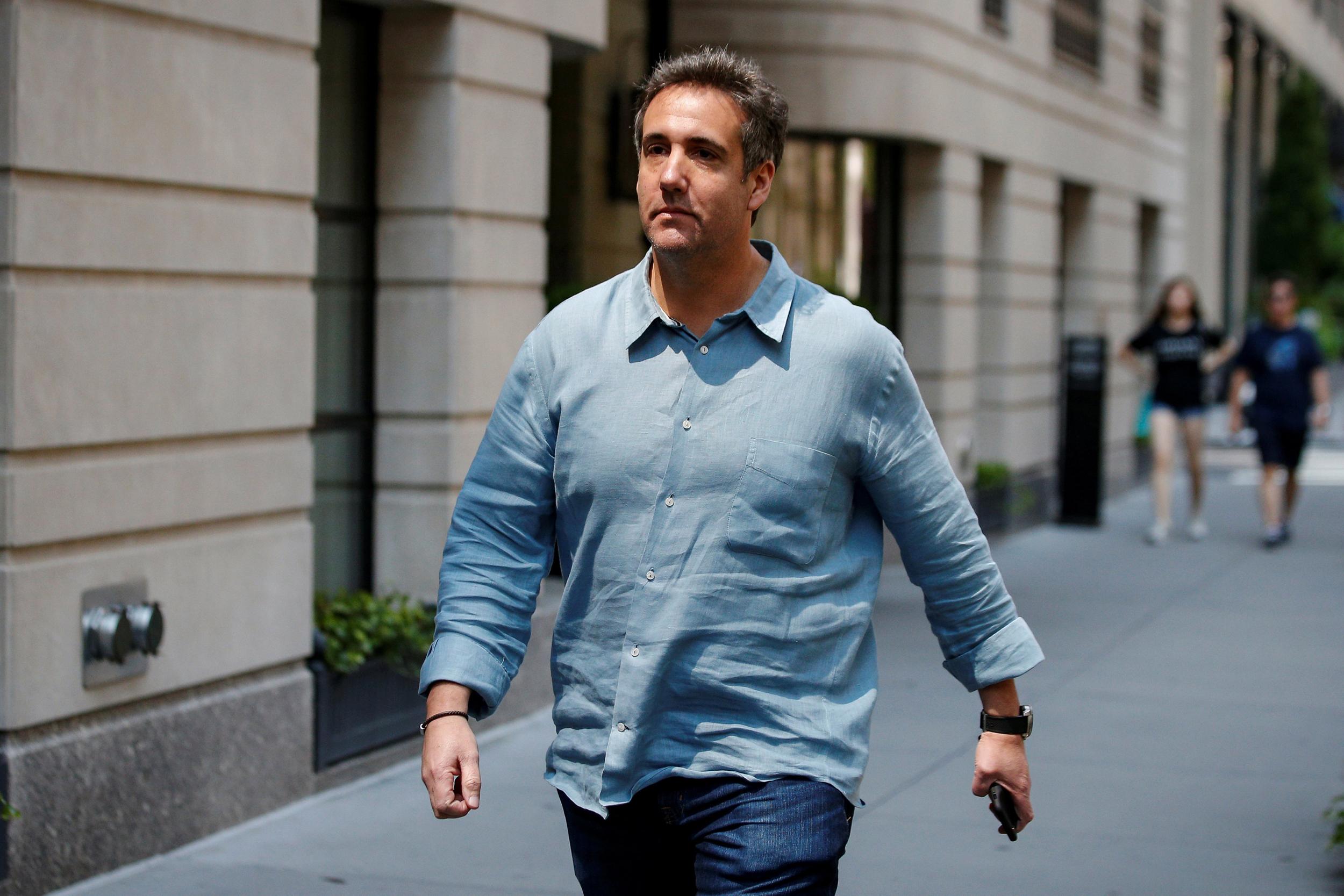 Ex-Trump lawyer Michael Cohen reaches plea deal with prosecutors