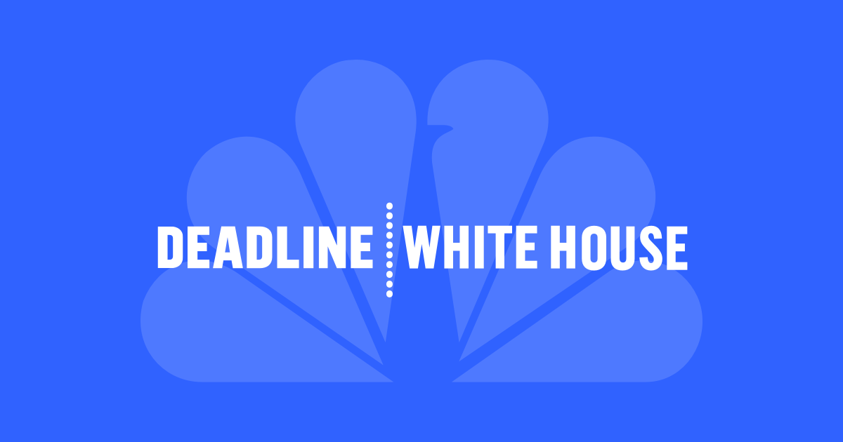 Deadline: White House on MSNBC...
