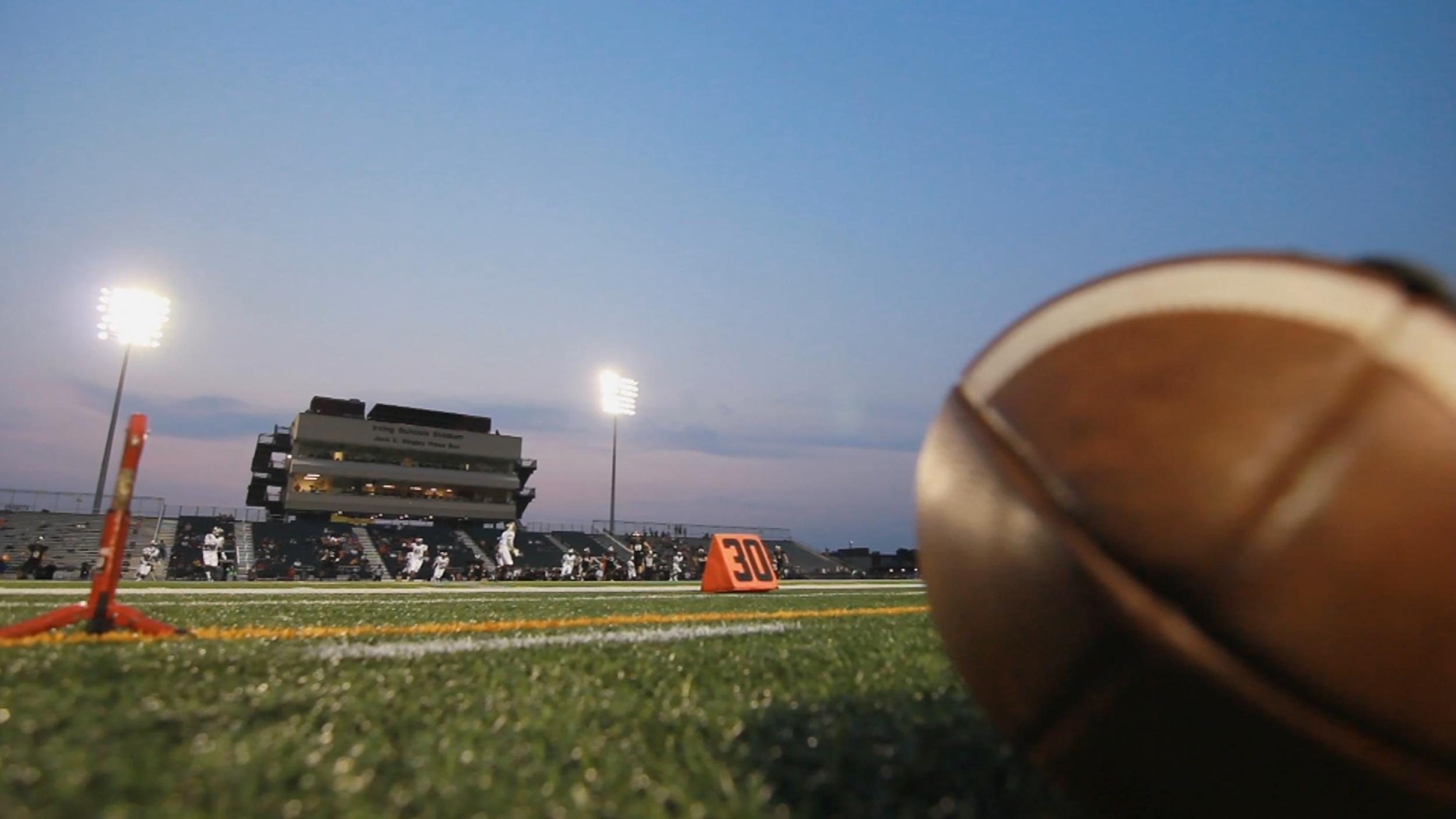 The Friday night lights start to dim on high school football