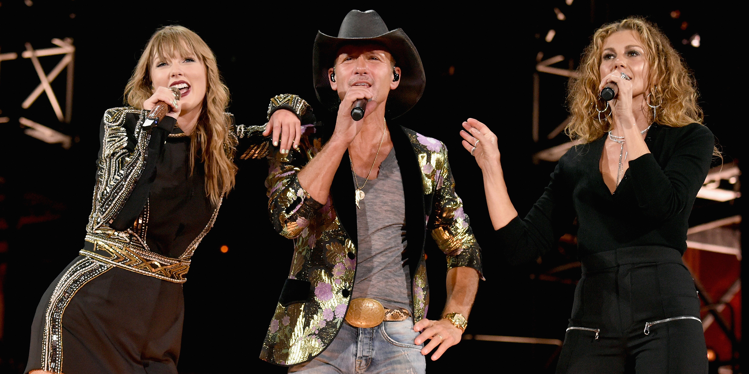 Taylor Swift Sings Tim Mcgraw With Faith Hill Tim Mcgraw