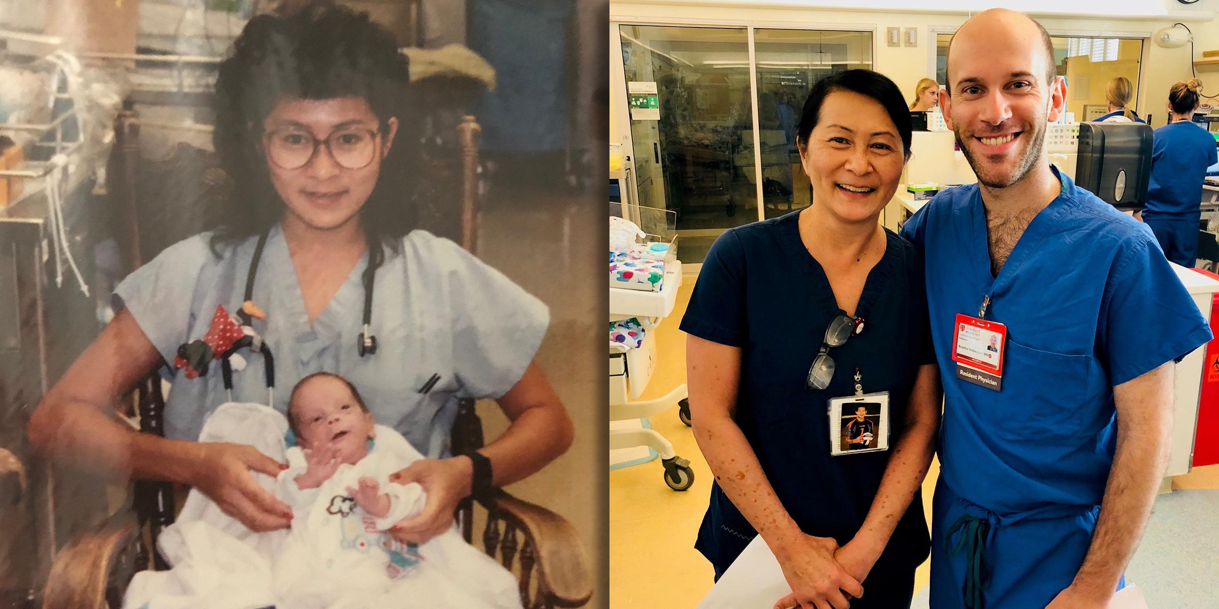 Found a nurse after 42 years