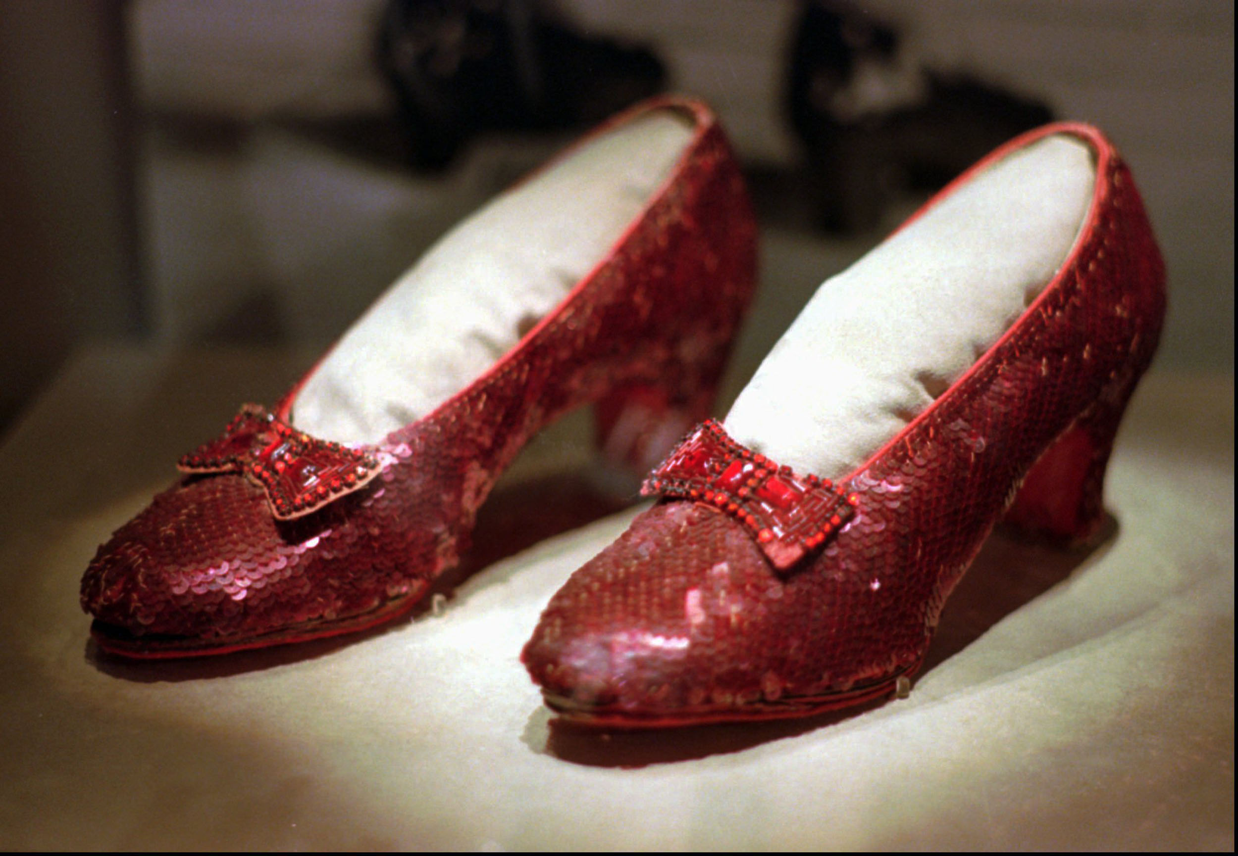 Dorothy's stolen ruby slippers from 'The Wizard of Oz' found by FBI after 13 years