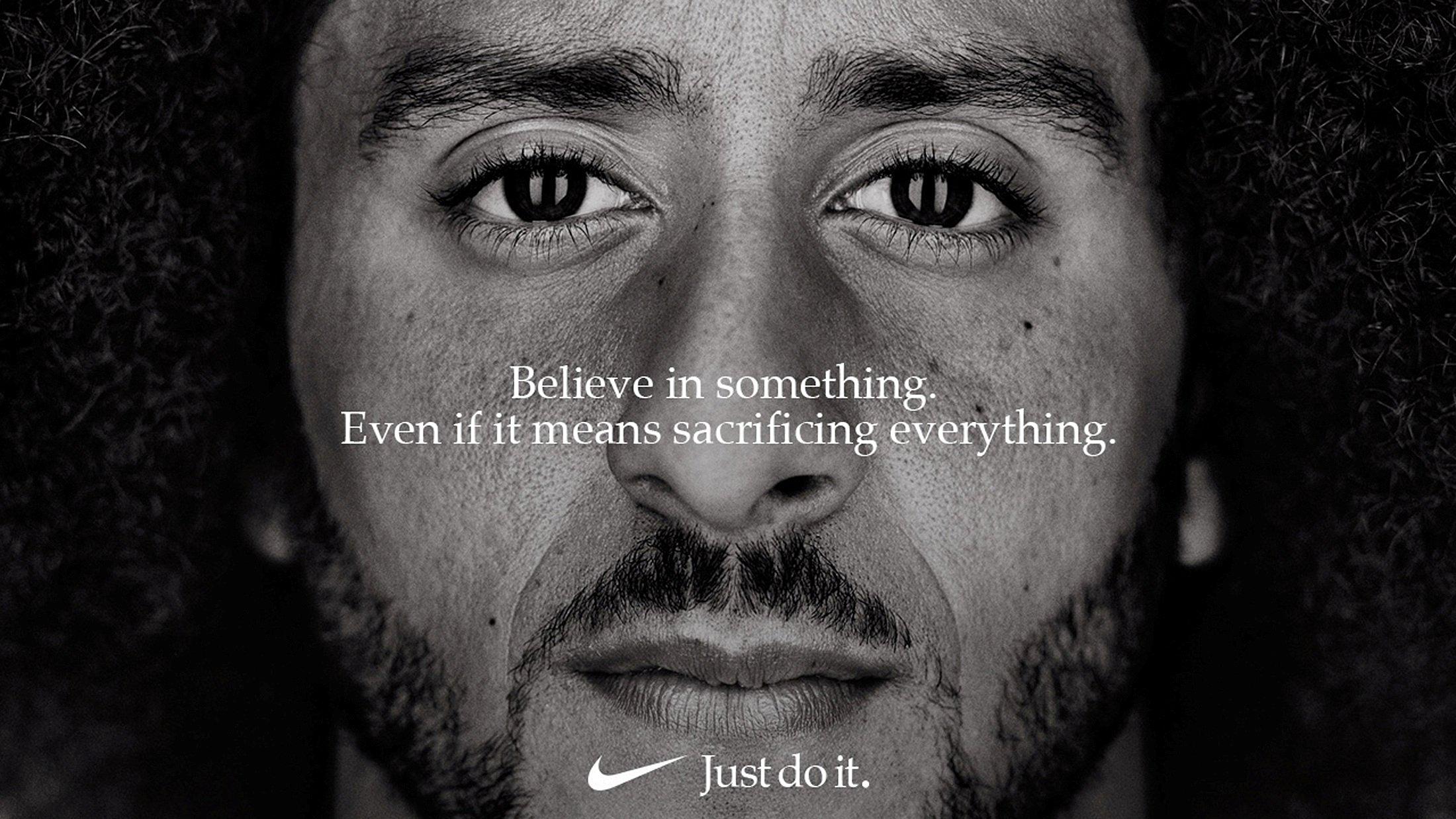 Sobretodo Múltiple Monarca  Nike takes heat for new Kaepernick ad — but is social activism just the new  ad hook?