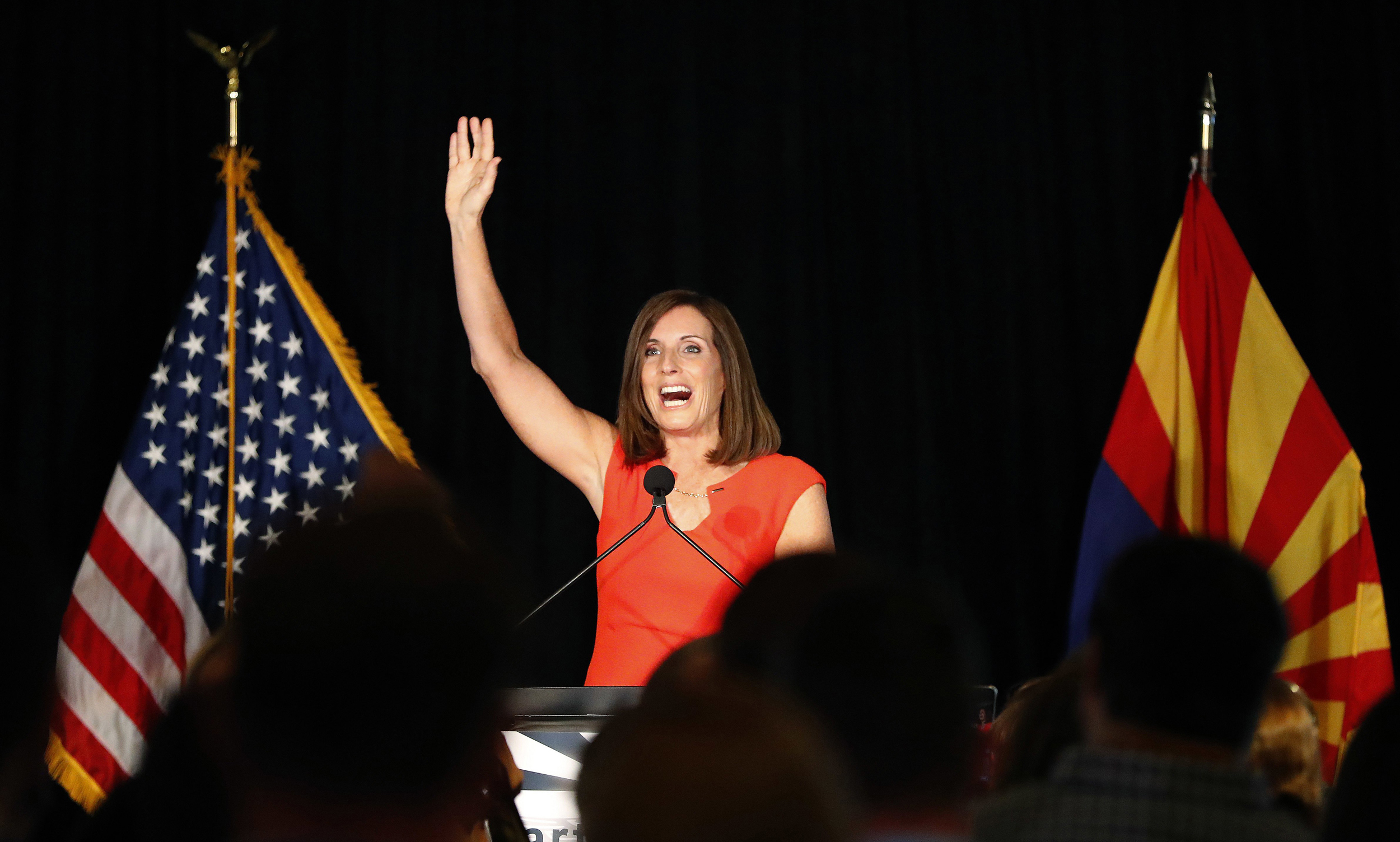 Republicans wave the flag in key Senate races. Is that their best message?