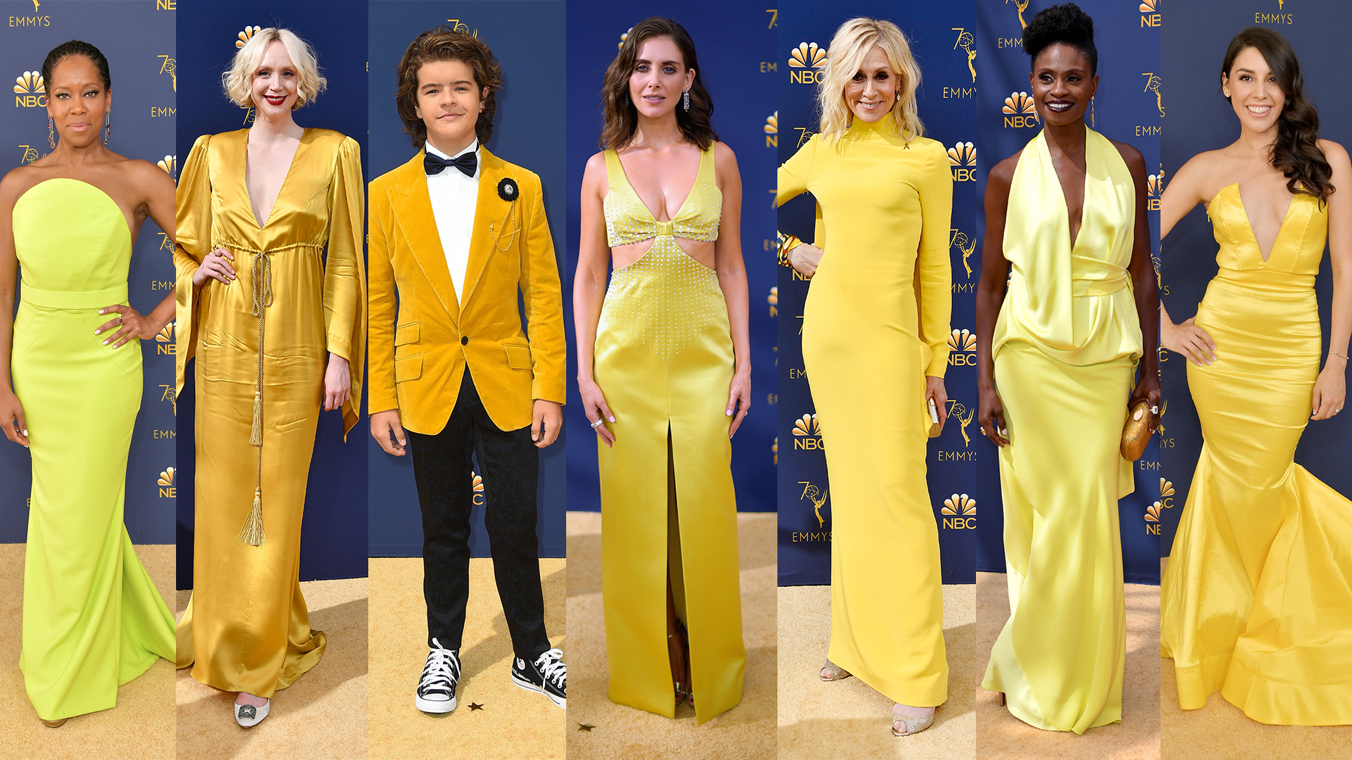 3513b347648ed Emmy Awards 2018 fashion trends: Yellow, menswear, pastels and more