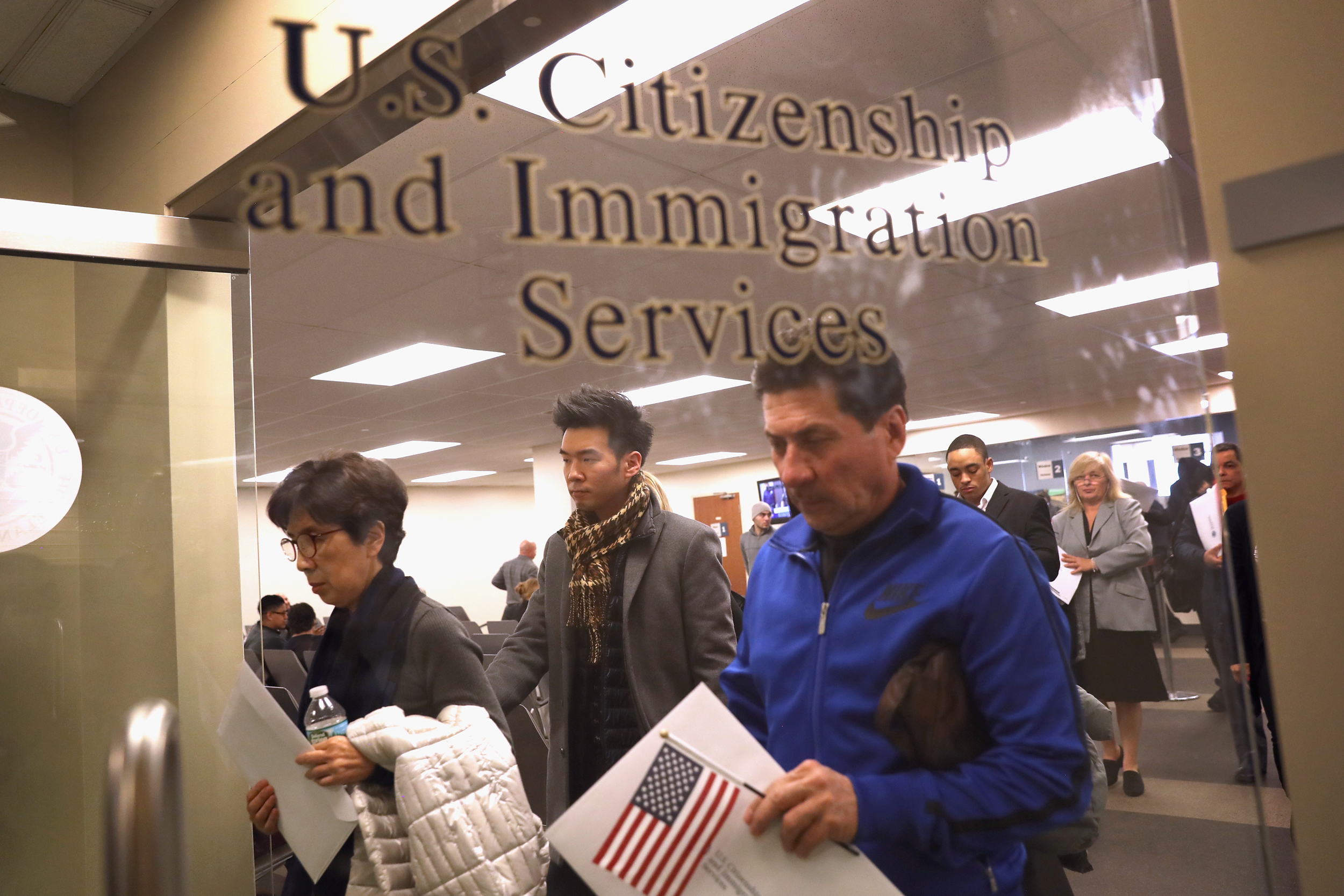 U S  citizens applying for green cards for noncitizen spouses see