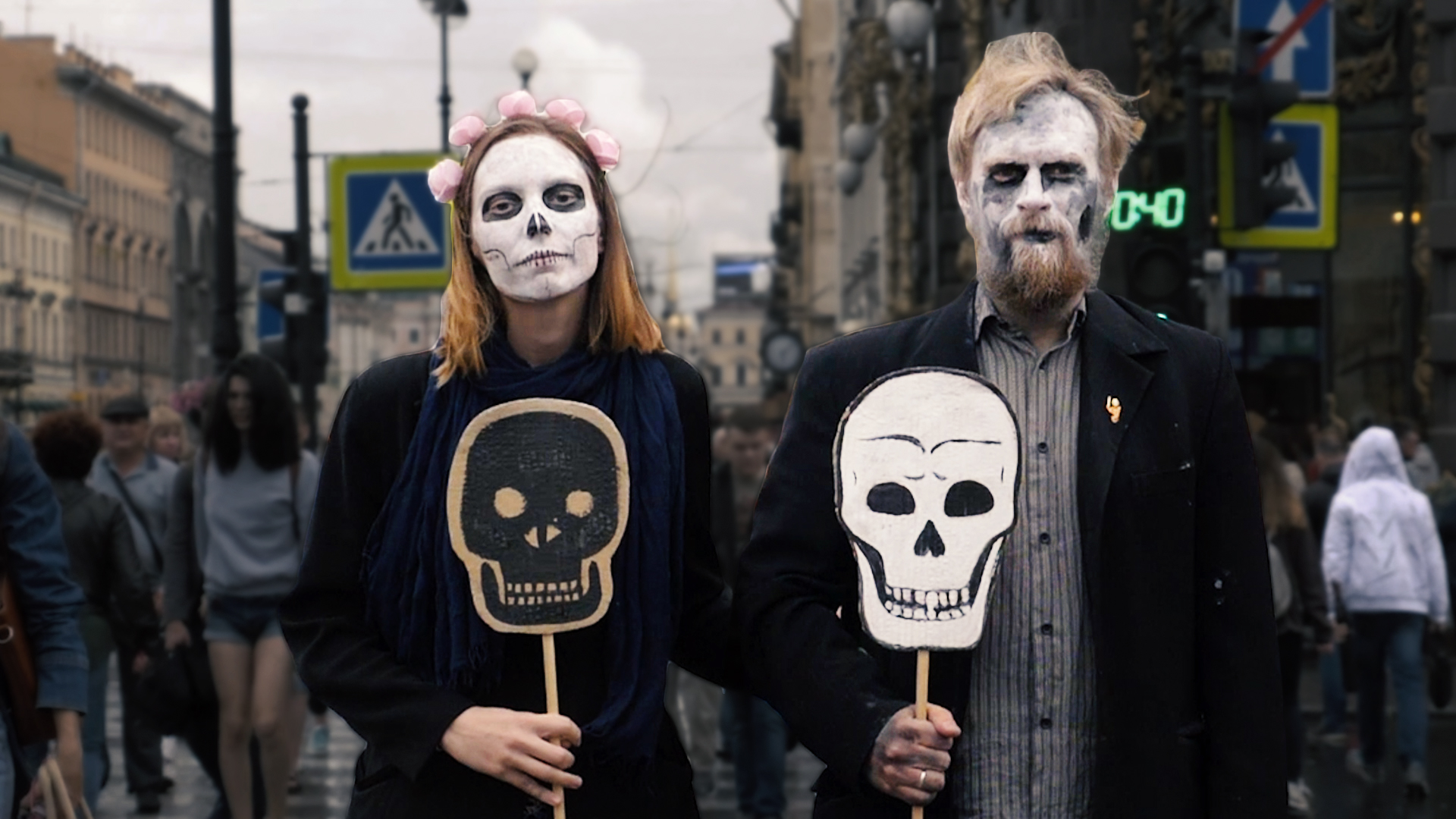 Party of the Dead uses art to fight for free speech in Russia