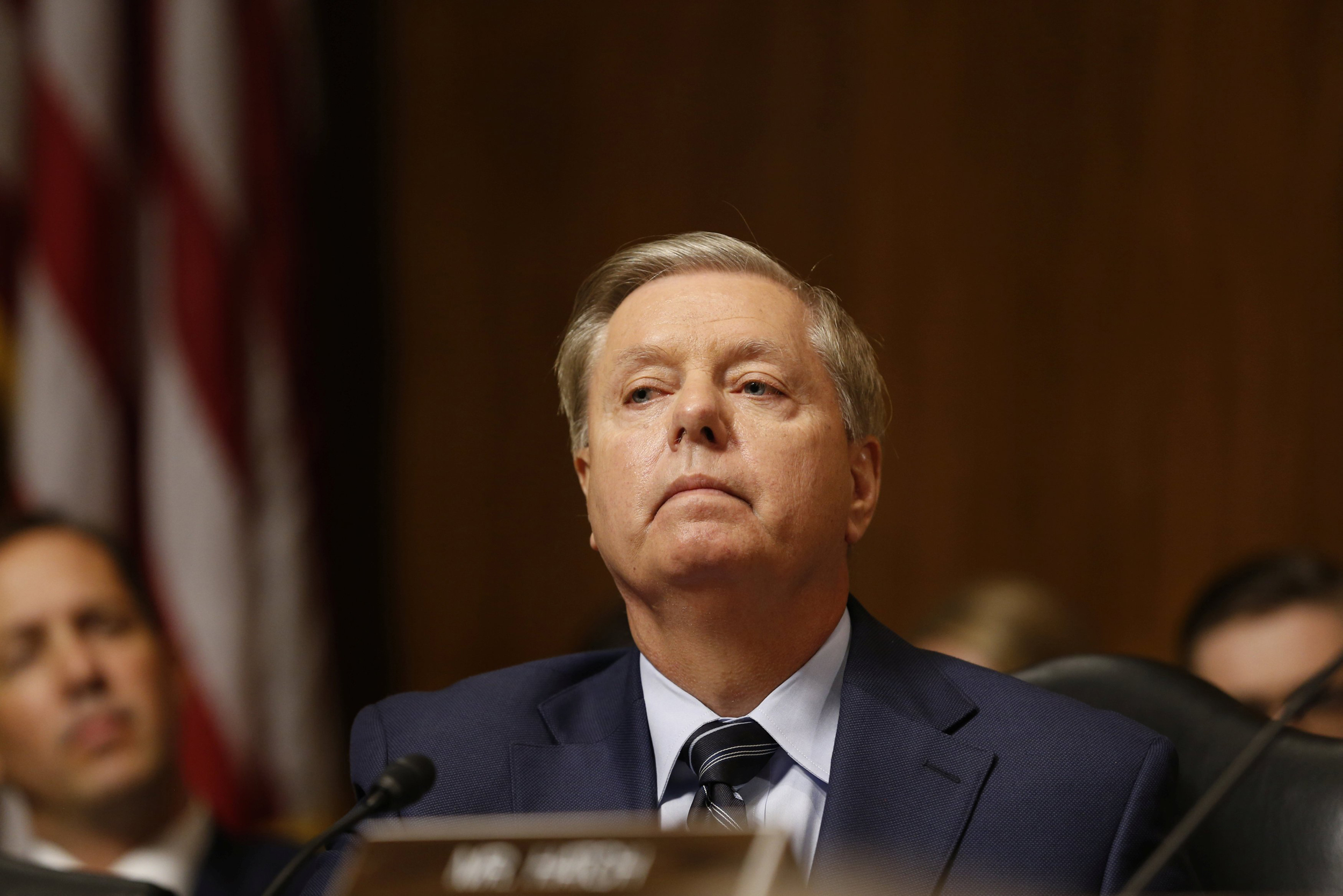Graham wants another investigation — into how Democrats handled Ford's accusations