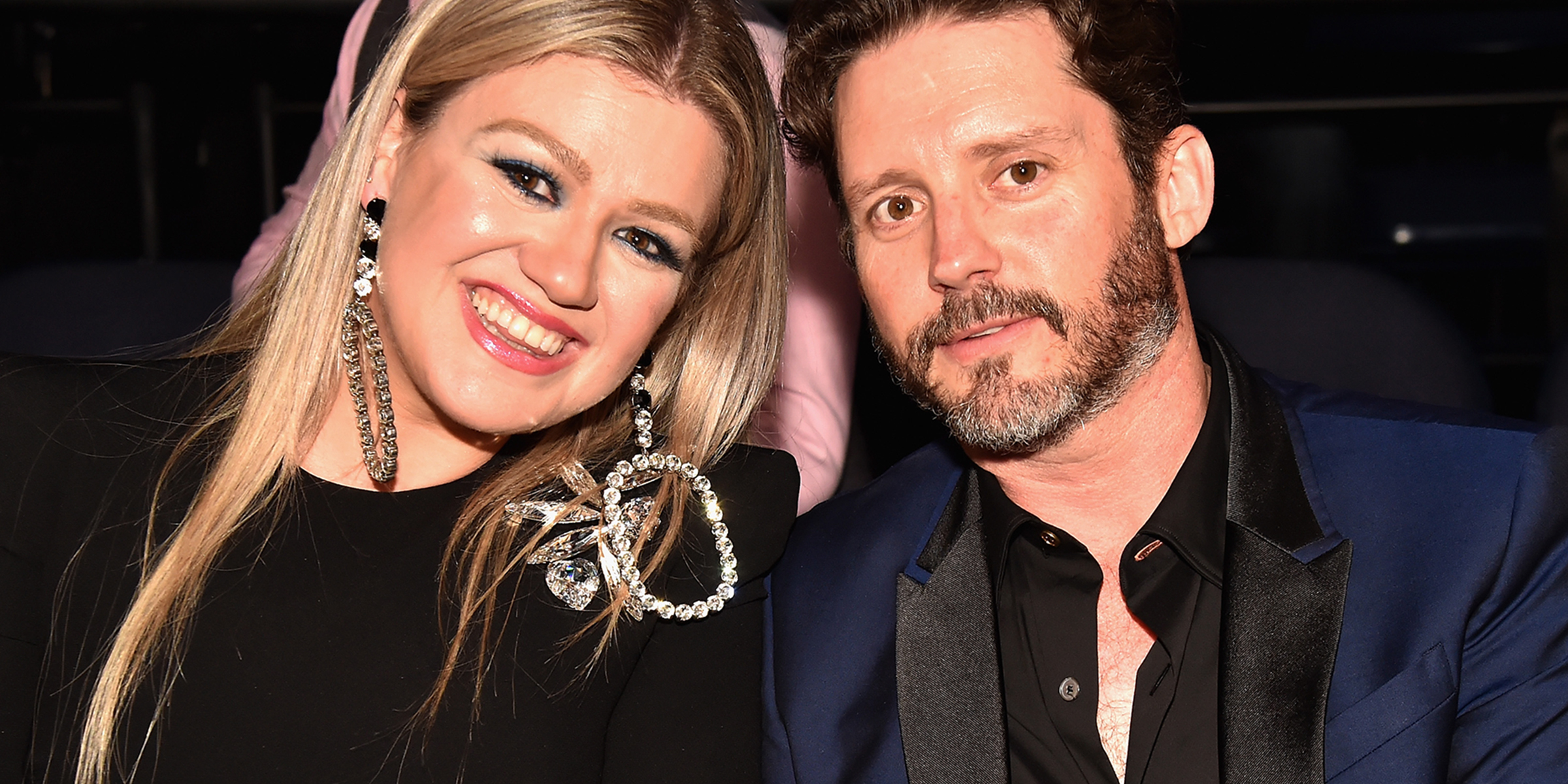 Kelly Clarkson opens up about working with her hubby