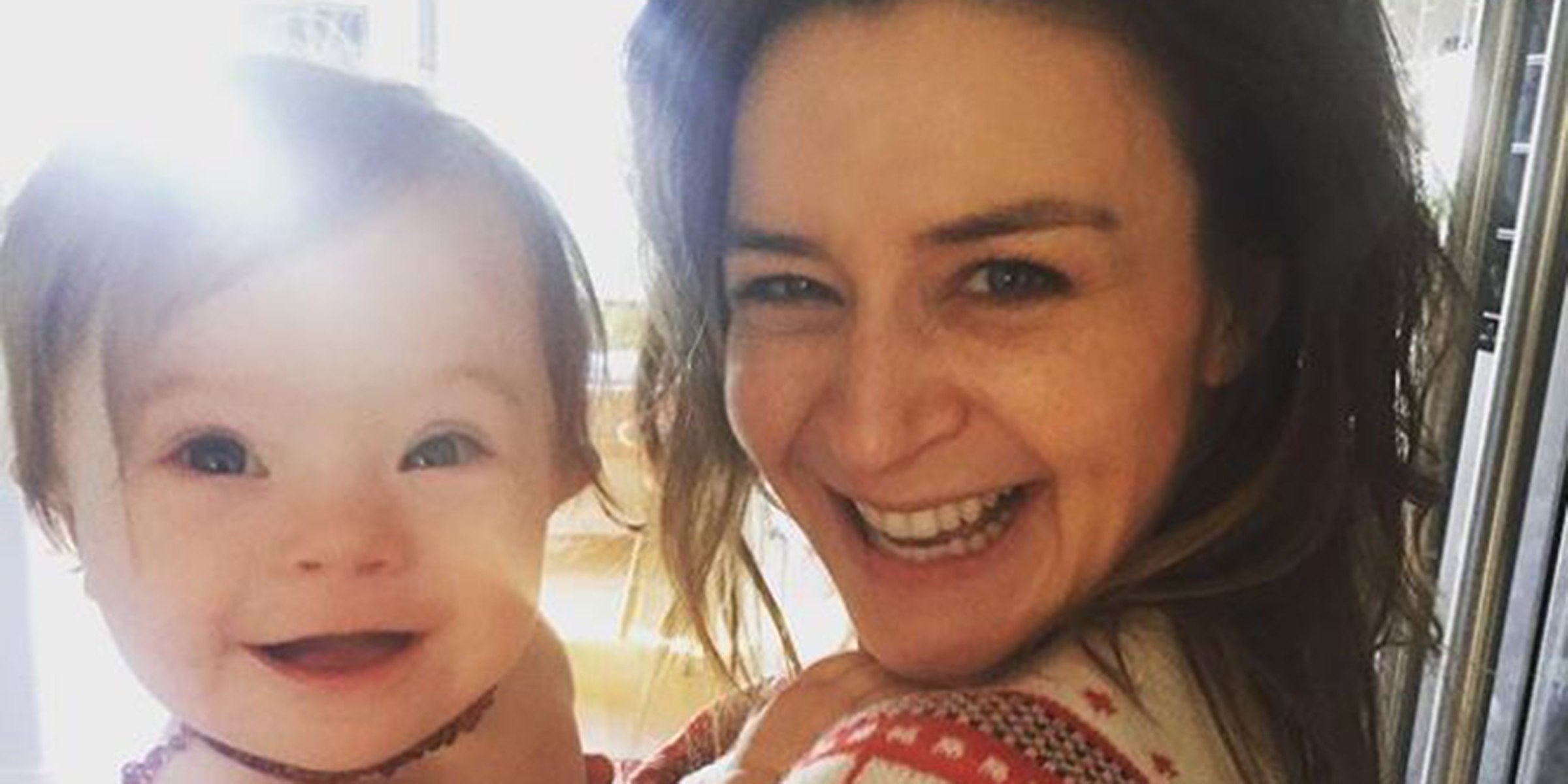 Caterina Scorsone shares photo of daughter for Down syndrome