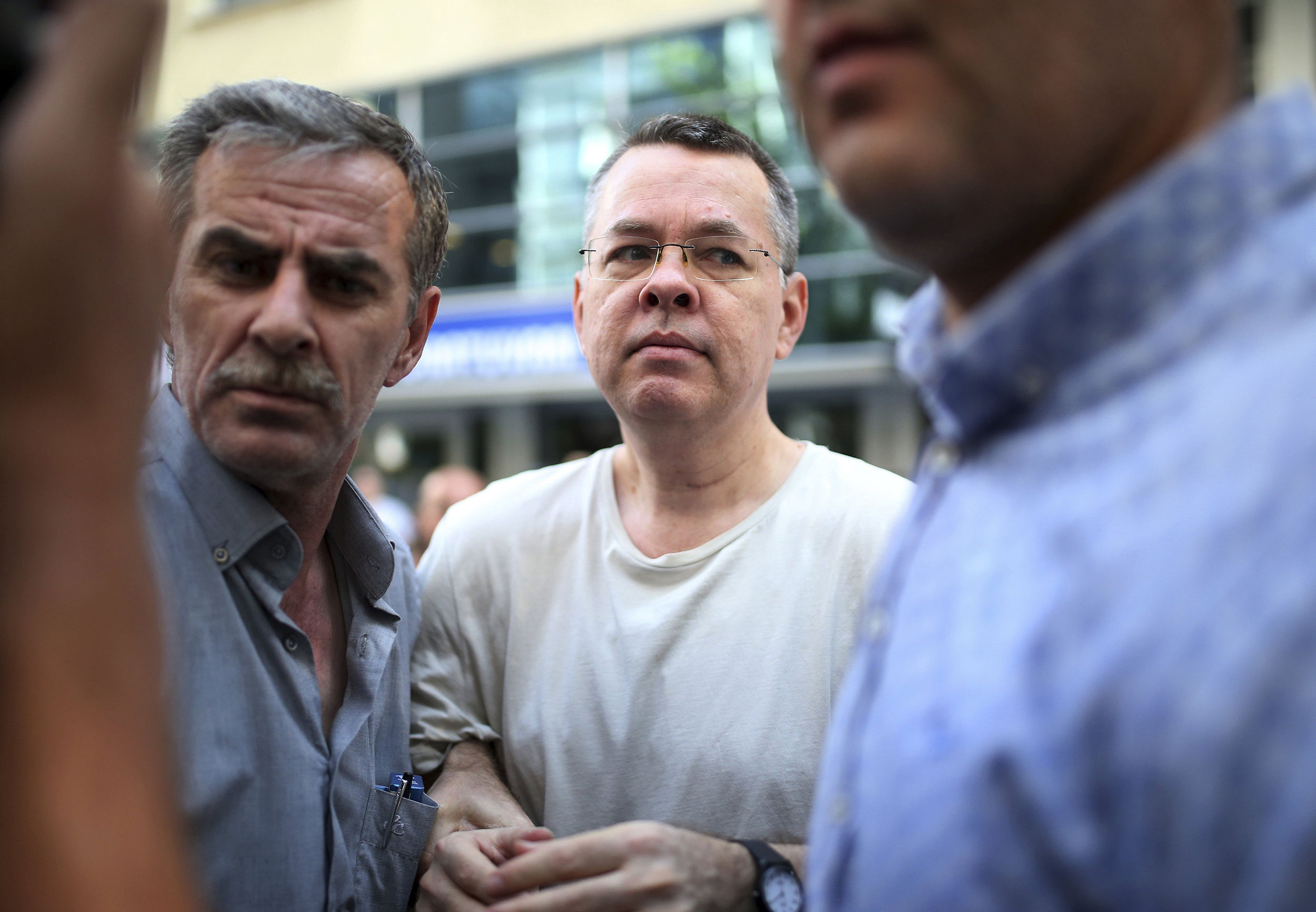 Secret deal with Turkey paves way for American pastor's release