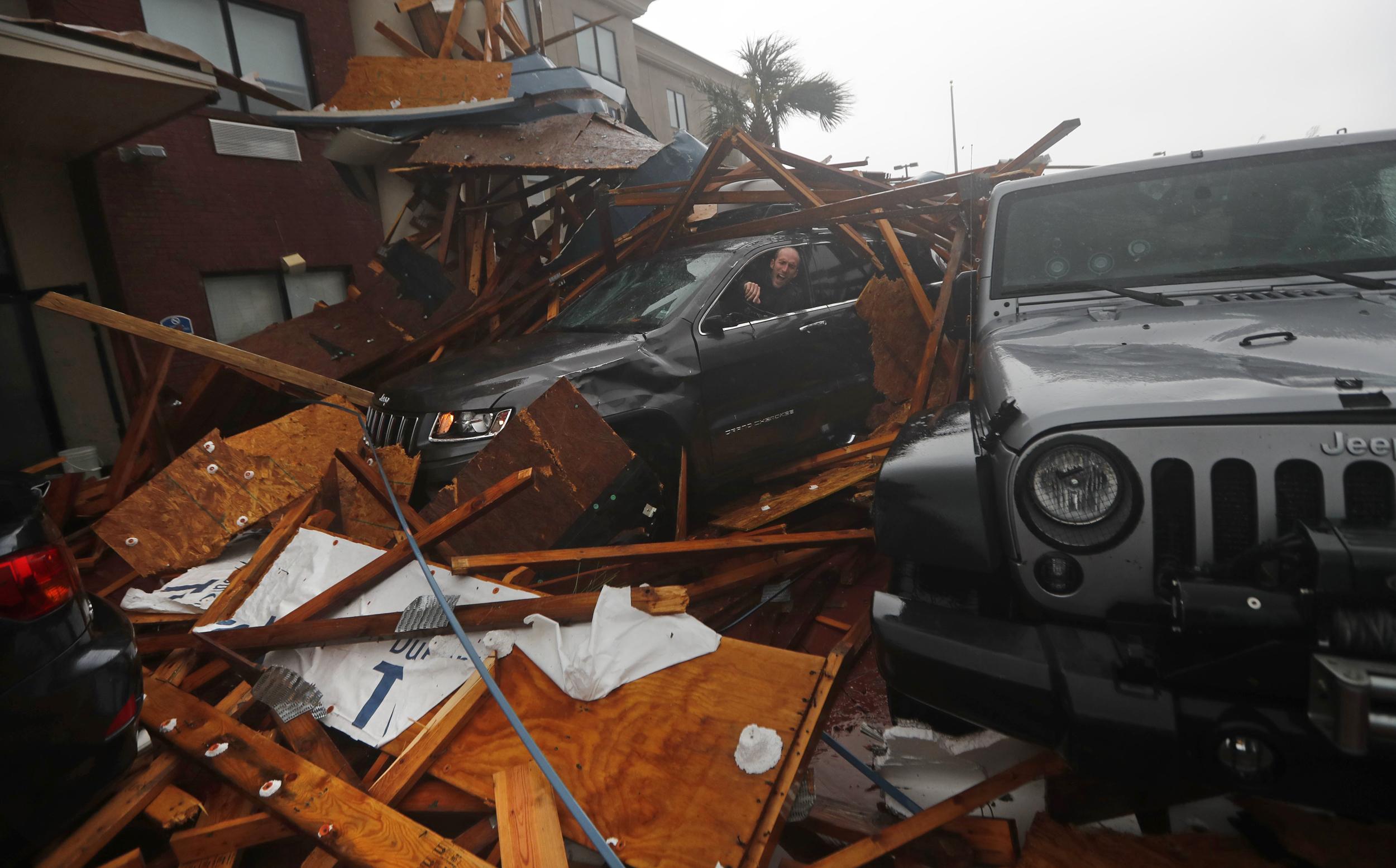 Panama-City-weathers-brunt-of-Hurricane-Michael's-destructive-force
