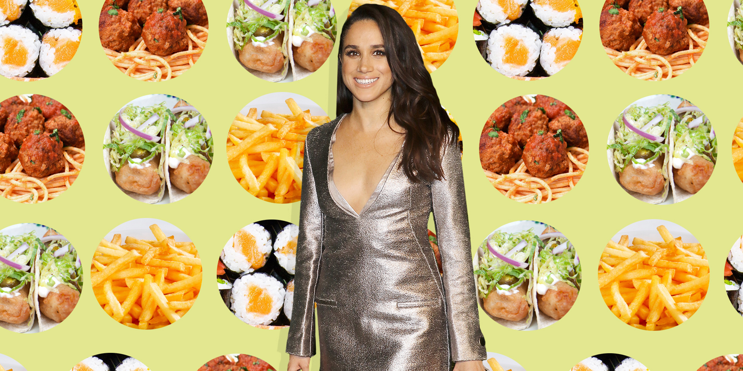 These are Meghan Markle's favorite foods