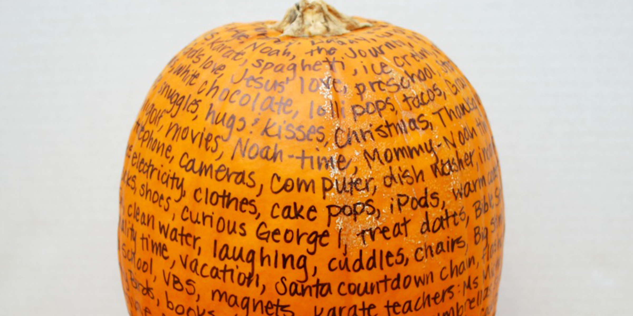 thankful pumpkin makes it easy to celebrate fall with kids