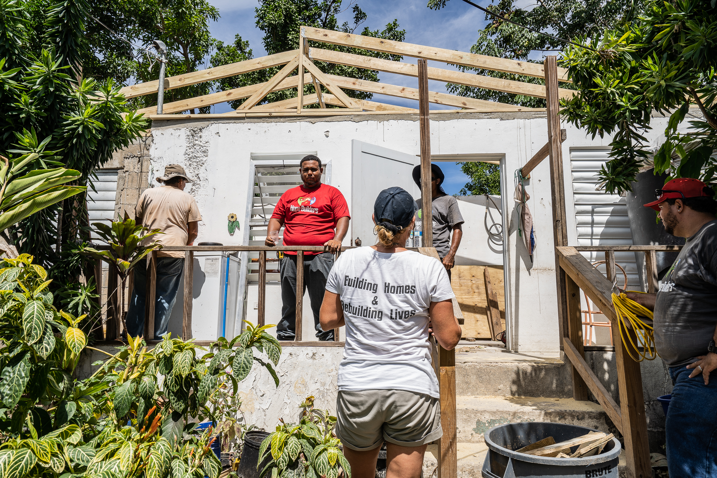 In the island of Vieques, Puerto Rico, rebuilding feels never ending