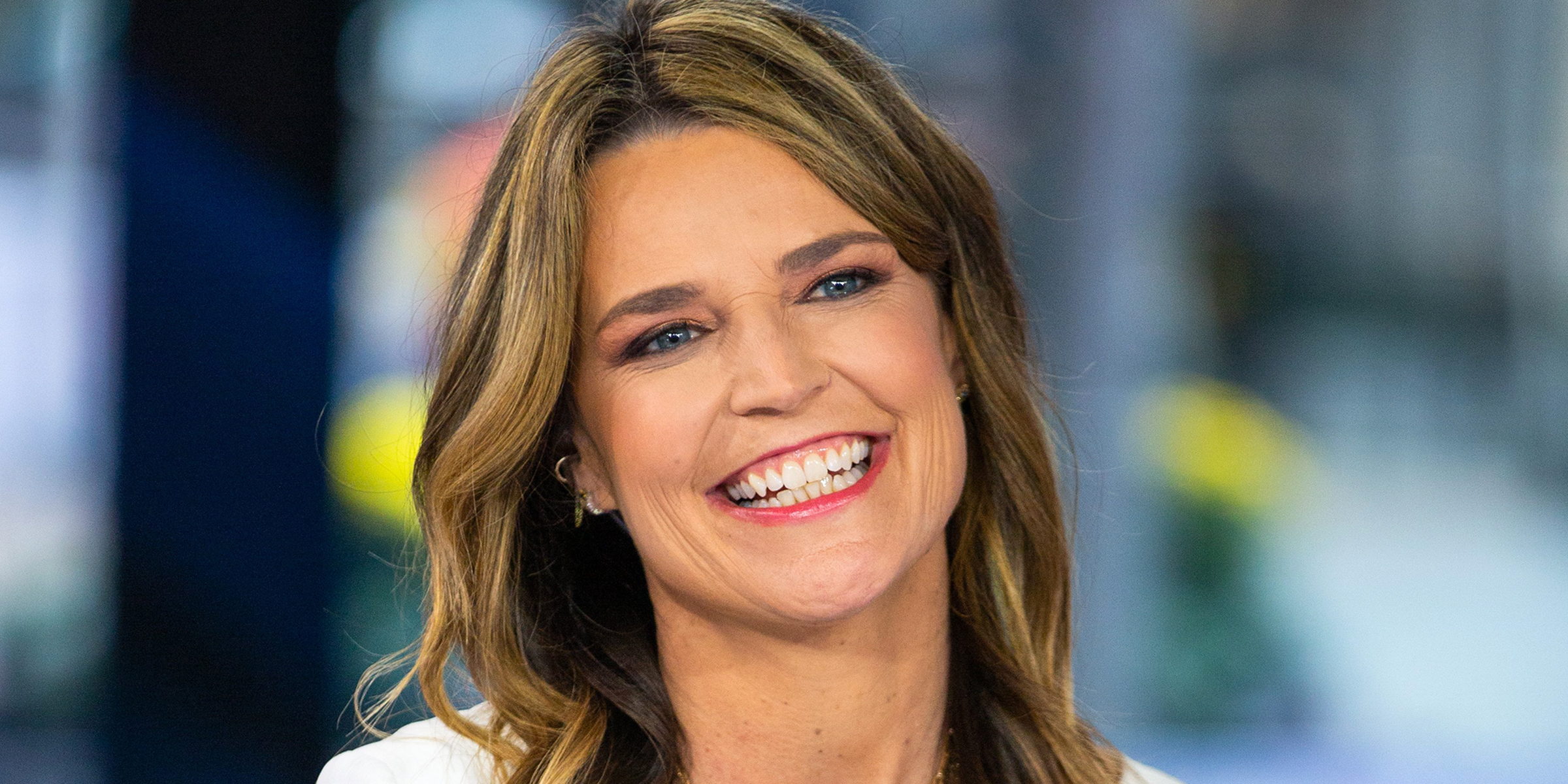 Savannah Guthrie Wears Two Hoops In One Ear Inspired By Jennifer Fisher