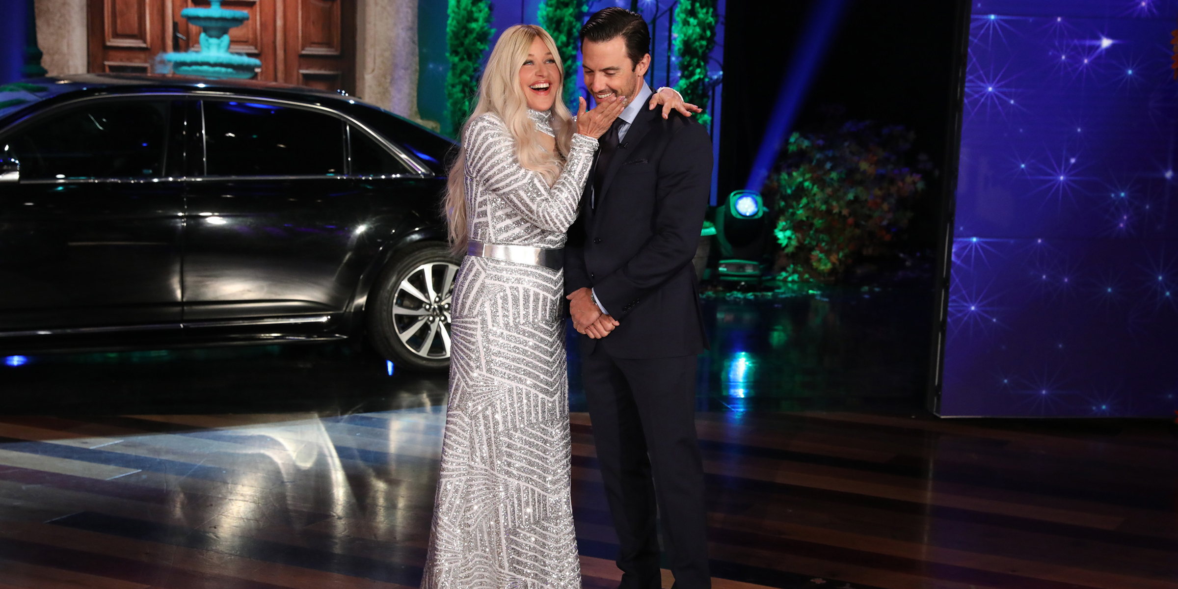 Ellen Spoofs The Bachelor With Help From Milo Ventimiglia Watch