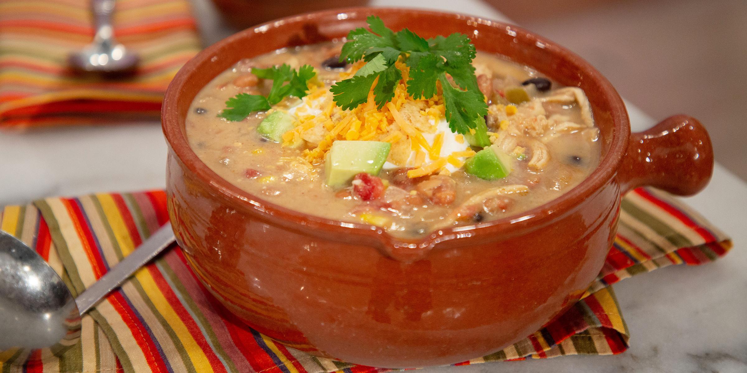 martina mcbride s creamy chicken tortilla soup today com