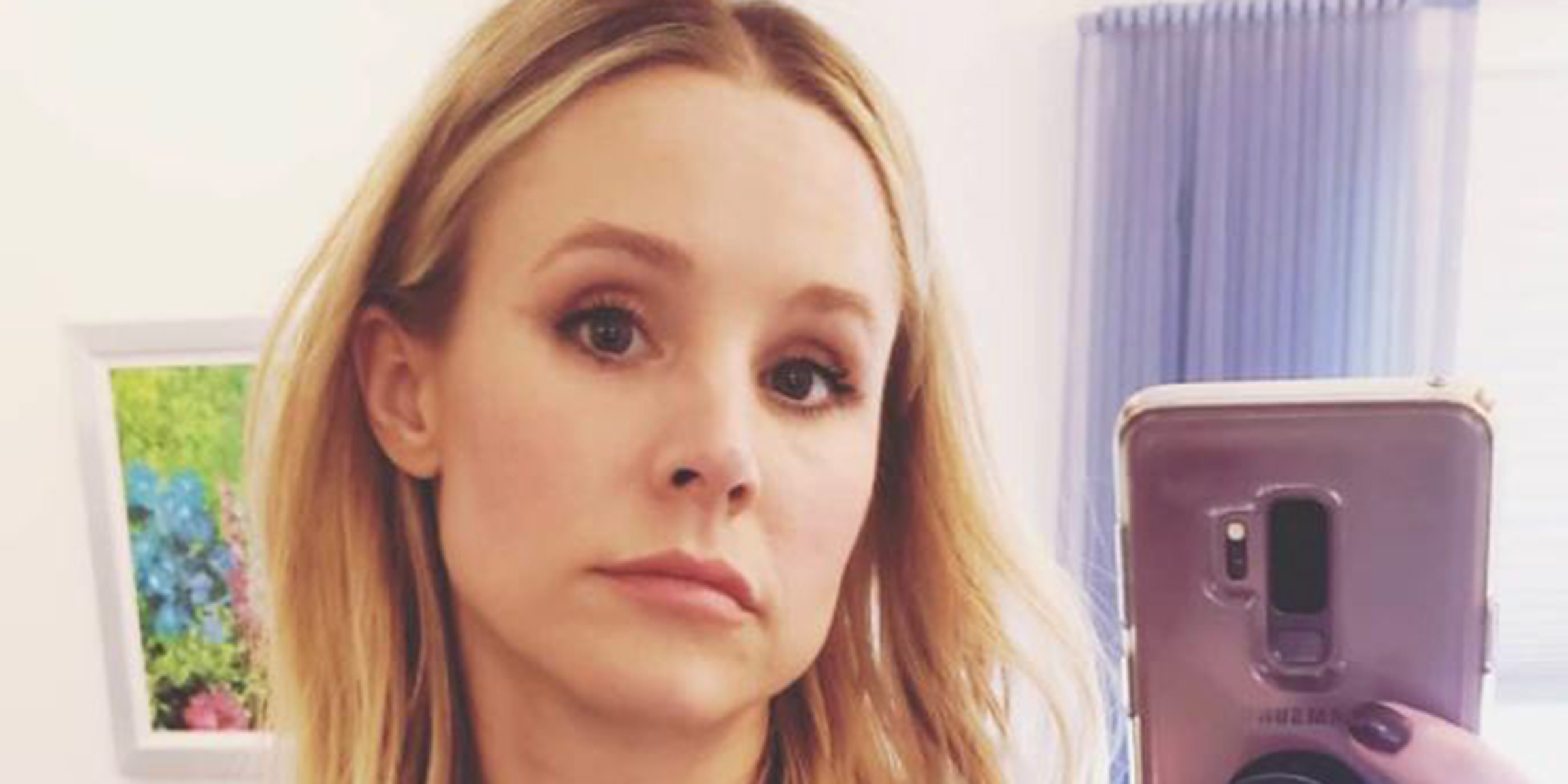 kristen bell s daughter forced her to dress up as elsa from frozen