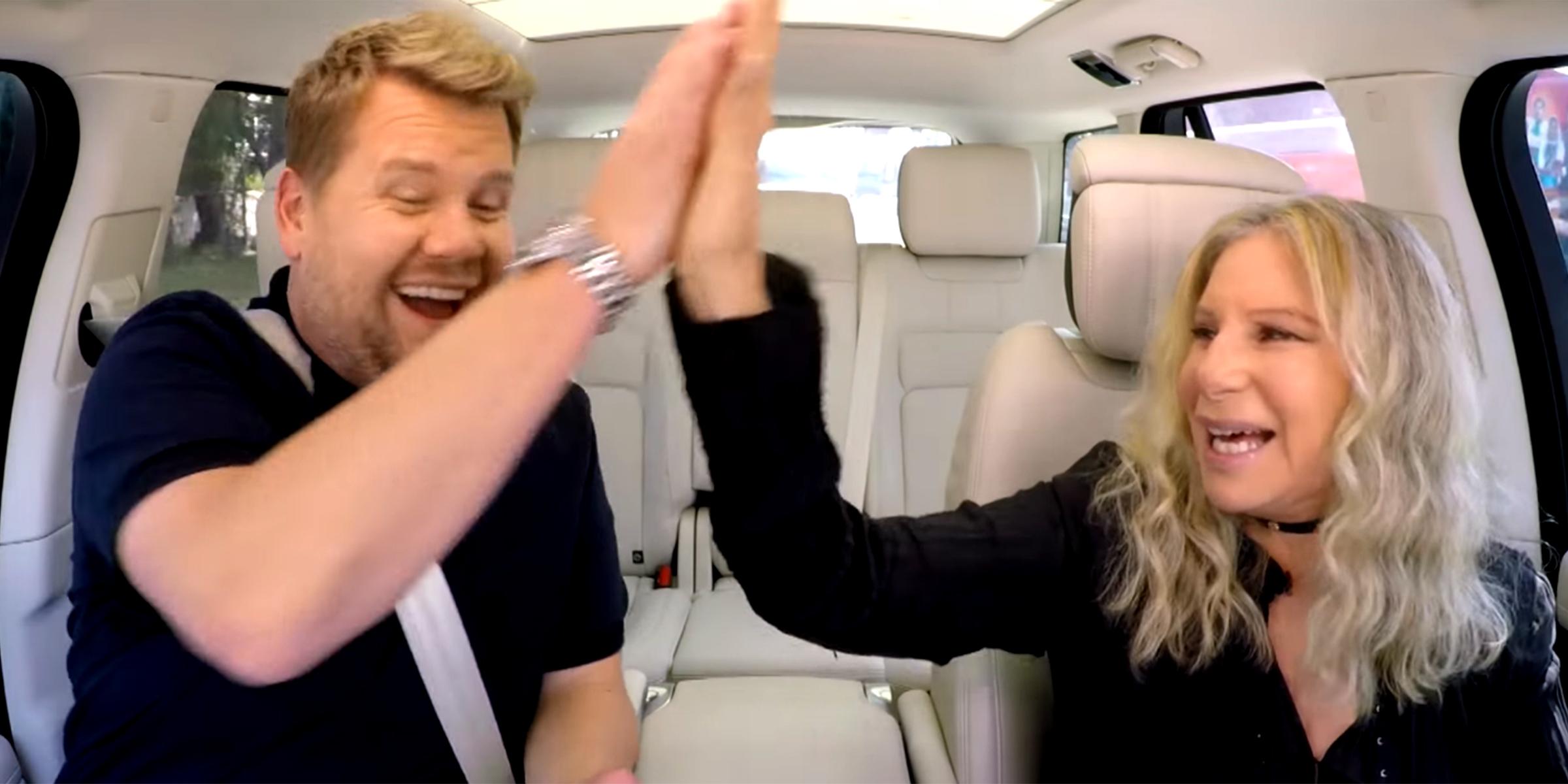 Barbra Streisand S Carpool Karaoke With James Corden Is A Wild Ride