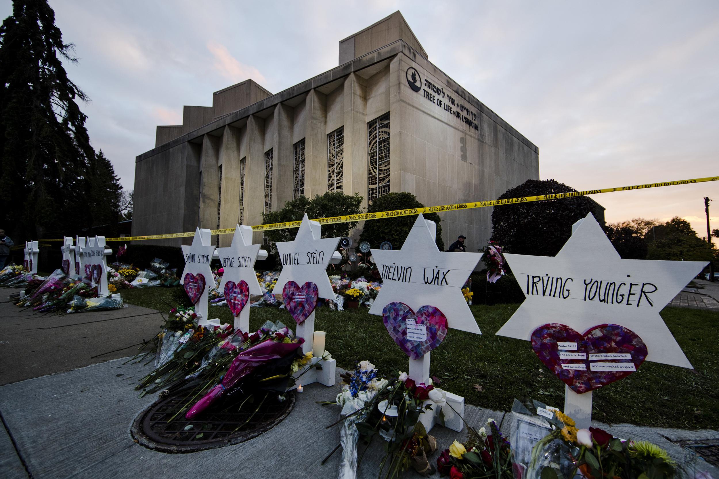 """Résultat de recherche d'images pour """"synagogue pittsburgh"""""""