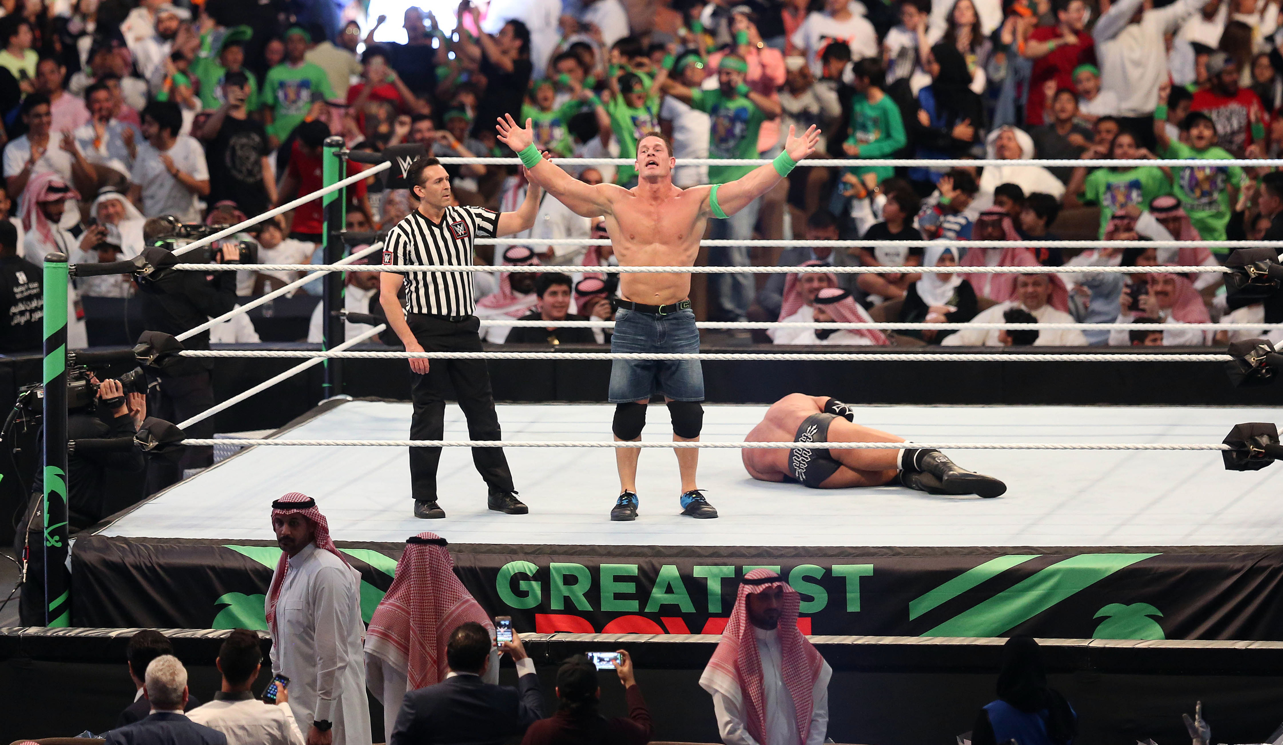 WWE's men-only Saudi Arabian wrestling special is obviously a terrible idea