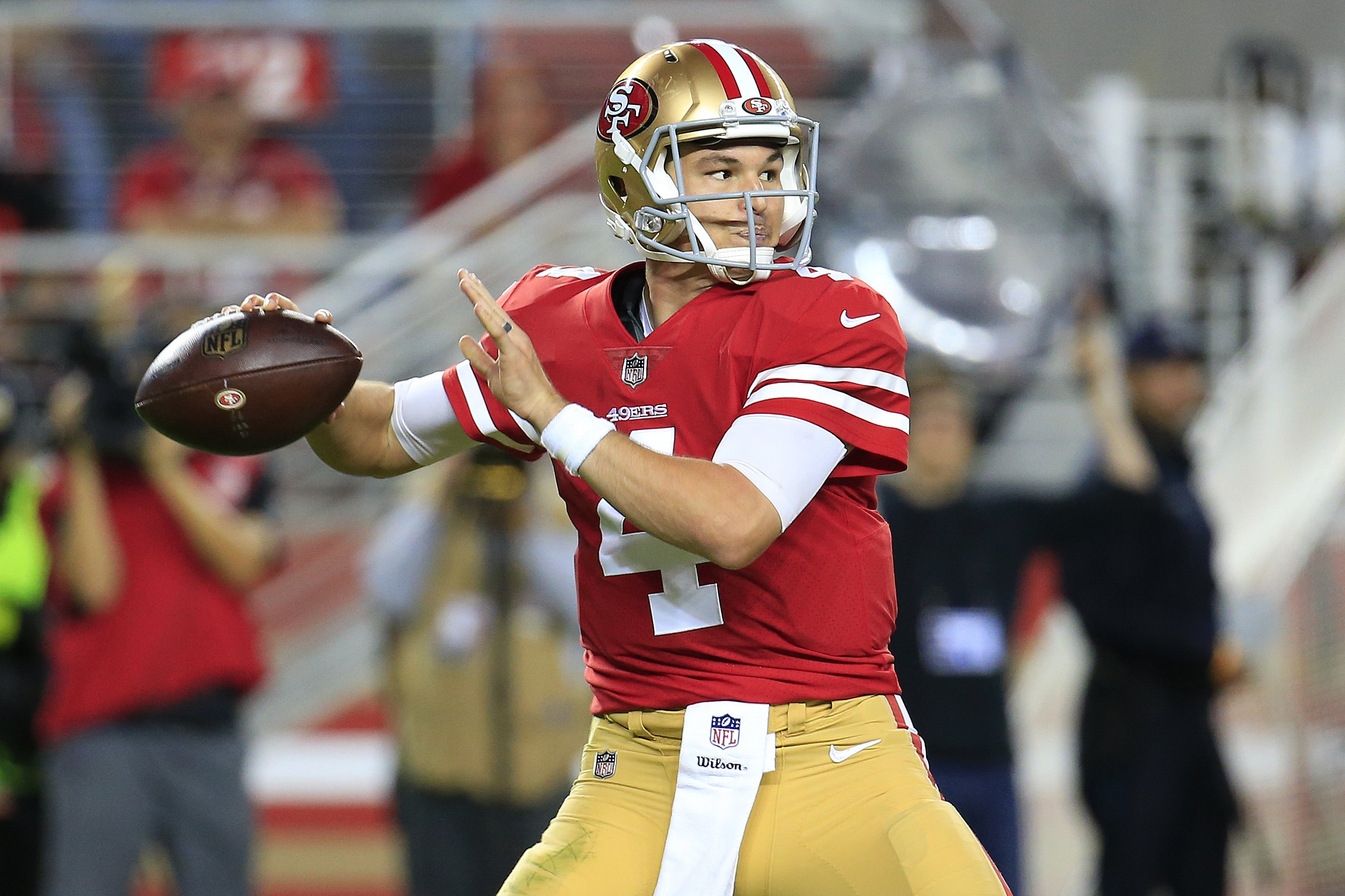 Nick Mullens shines in first career start as 49ers embarrass Raiders