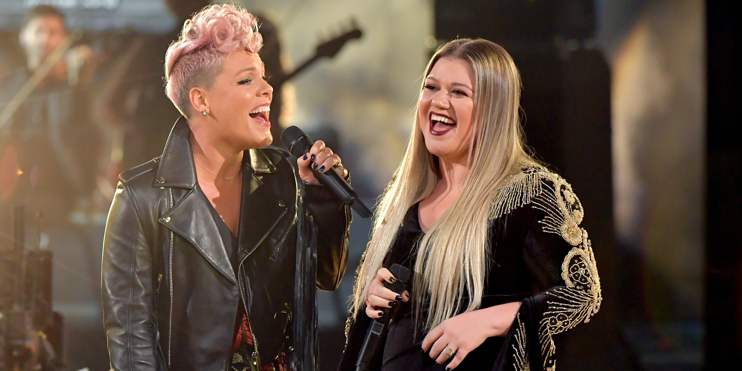 Kelly Clarkson: Pink is the relatable celeb 'I would actually hang with'